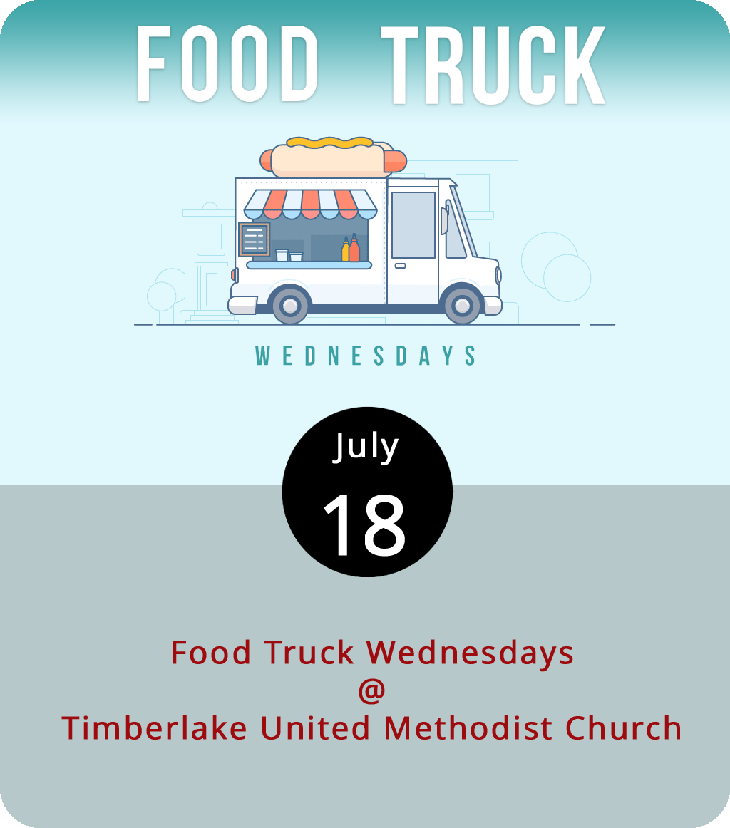 Most food truck roundups schedule at least one vendor that specializes in dessert. But Food Truck Wednesday this evening at Timberlake United Methodist Church (21649 Timberlake Rd.) will have three: Homestead Creamery, Kona Ice, and Dem Bunz. We thought Dem Bunz might be a hot dog vendor, but they actually sell cinnamon buns. Timberlake will also have four trucks serving more substantial dinner fare, including Lynchburg BBQ Co., Uprooted, Hibachi Guys, and Brother Jake's Brick Oven Creations. The food truckers will be open for business from 5 until 8 p.m. For more info, click  here or call (434) 239-1348.
