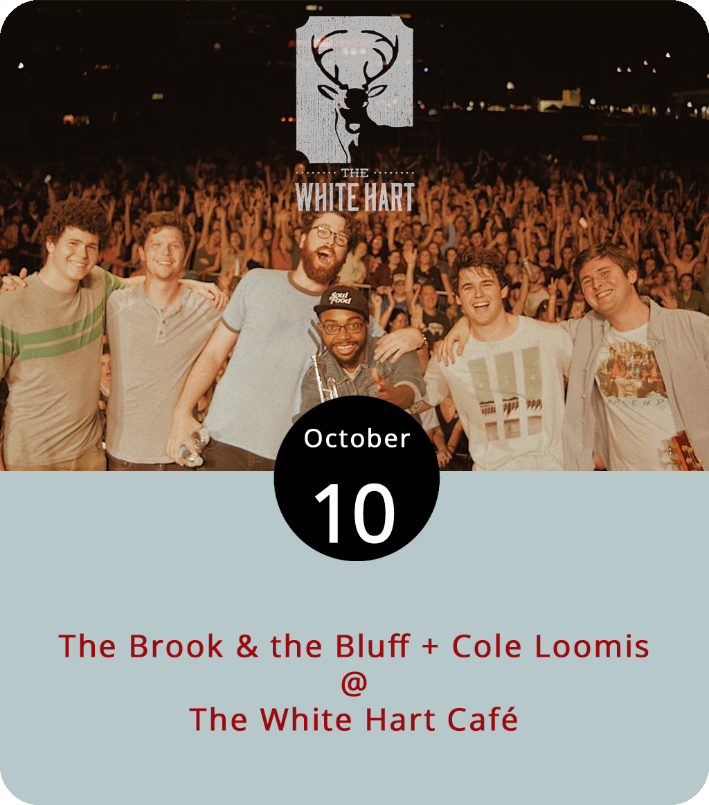 The band booked to play the White Hart Café (1208 Main St.) this evening are coming all the way from Birmingham, AL, where they seem to have built up a pretty big buzz for themselves. They've also had some luck on Spotify, where they've had several songs chart in the past year. And we're told they do really good harmonies. Check for yourself when they join singer-songwriter Cole Loomis on a double bill at the White Hart that should be getting started around 7 p.m. For more info, click  here or call (434) 207-5600.