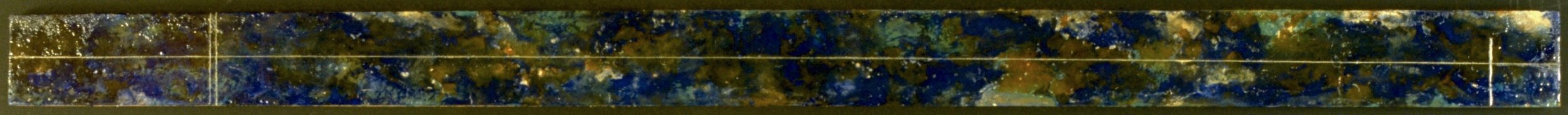Satellite, 1995  encaustic, oil and resin on panel 5 x 96 inches  Private Collection, Portland