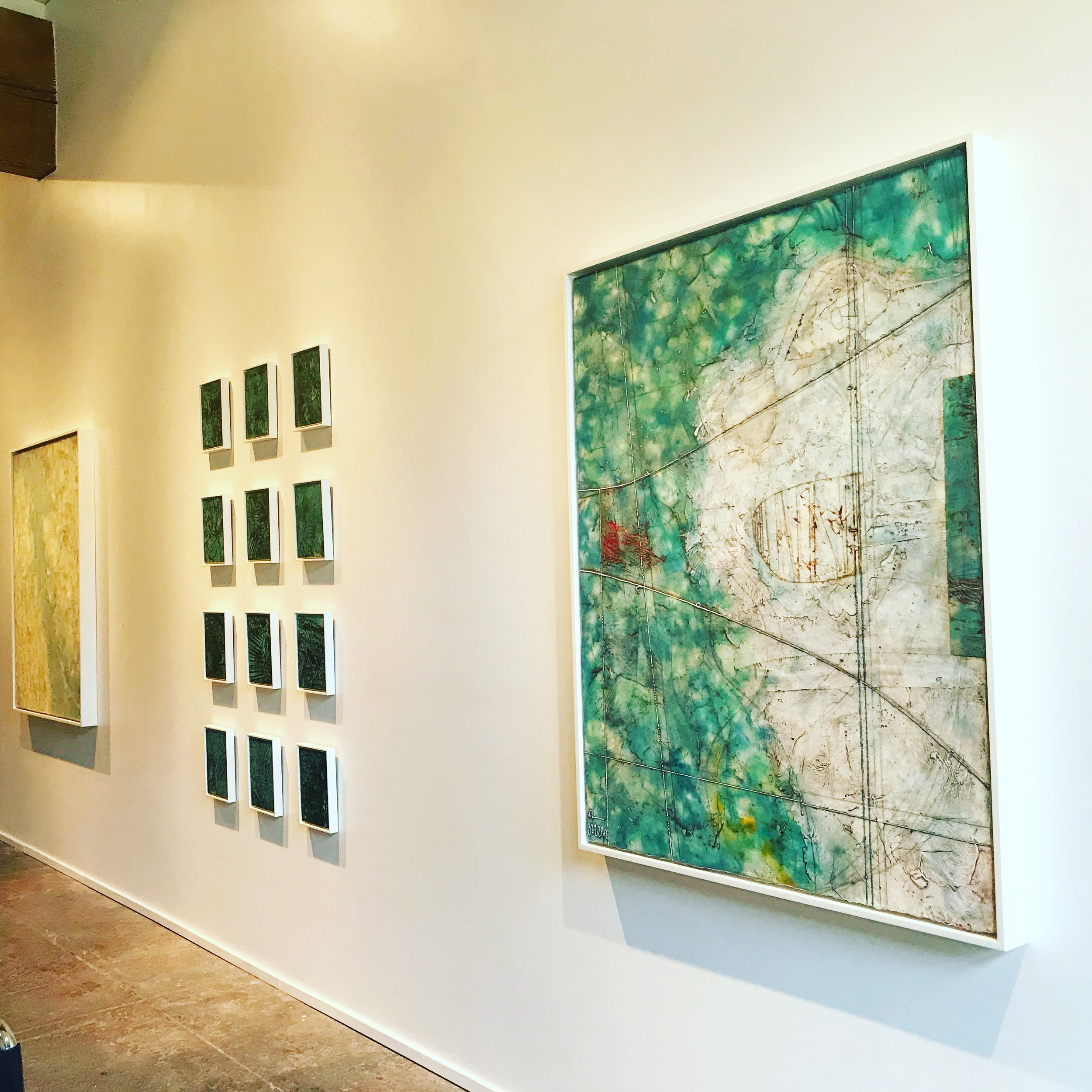 Solo Exhibit  Climate Charts  at   Butters Gallery, Portland     2017