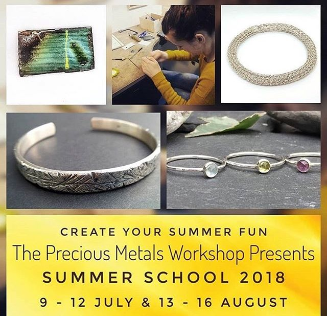 Still spaces available for next week at @preciousmetalsworkshop in @ootbdrillhall - Mon-Thurs all day intensive beginners jewellery courses taught by yours truly!! Sign up at @preciousmetalsworkshop (link is in my bio!!) The course is suited to all levels, treat yourself to a fun week and some new handmade jewellery!! #appinandthird #preciousmetalsworkshop #handmadejewellery #handmadeinedinburgh