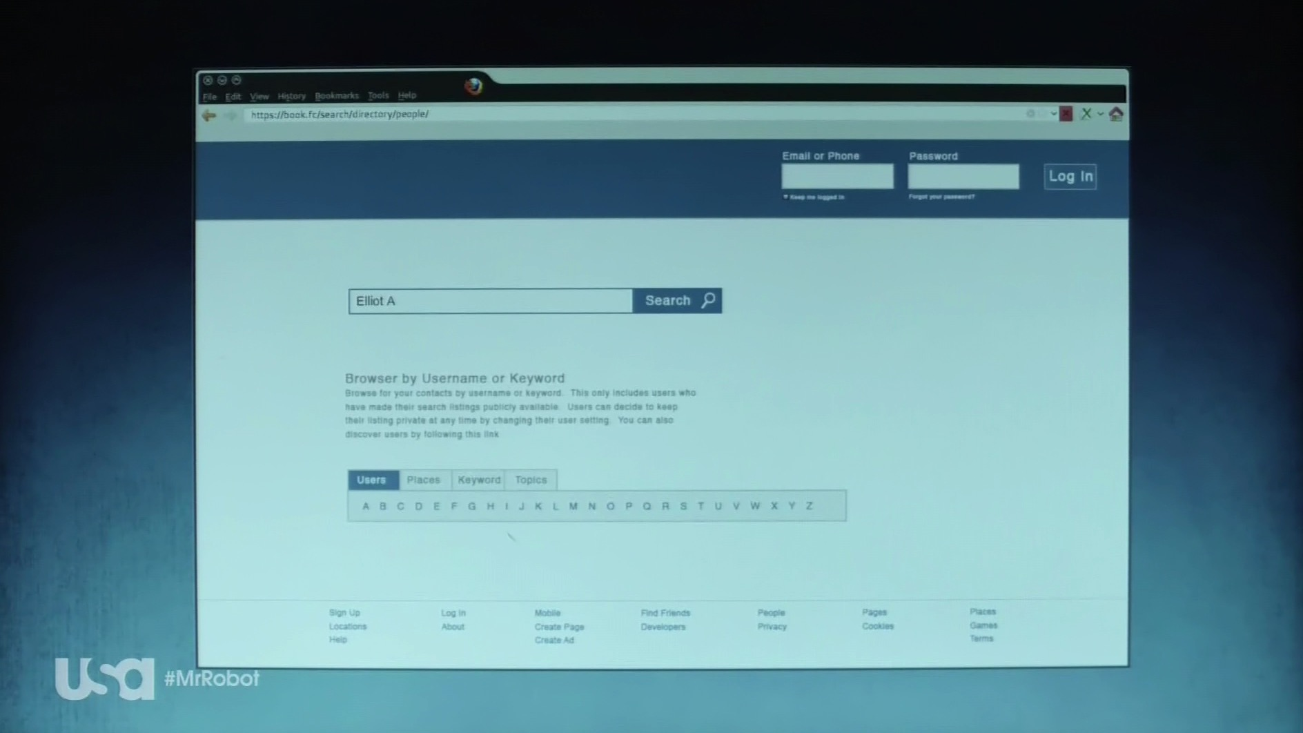 Mozilla • Mr Robot