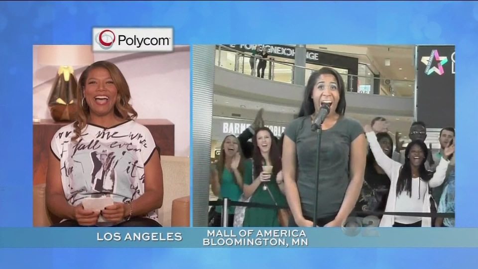 Polycom • The Queen Latifah Show