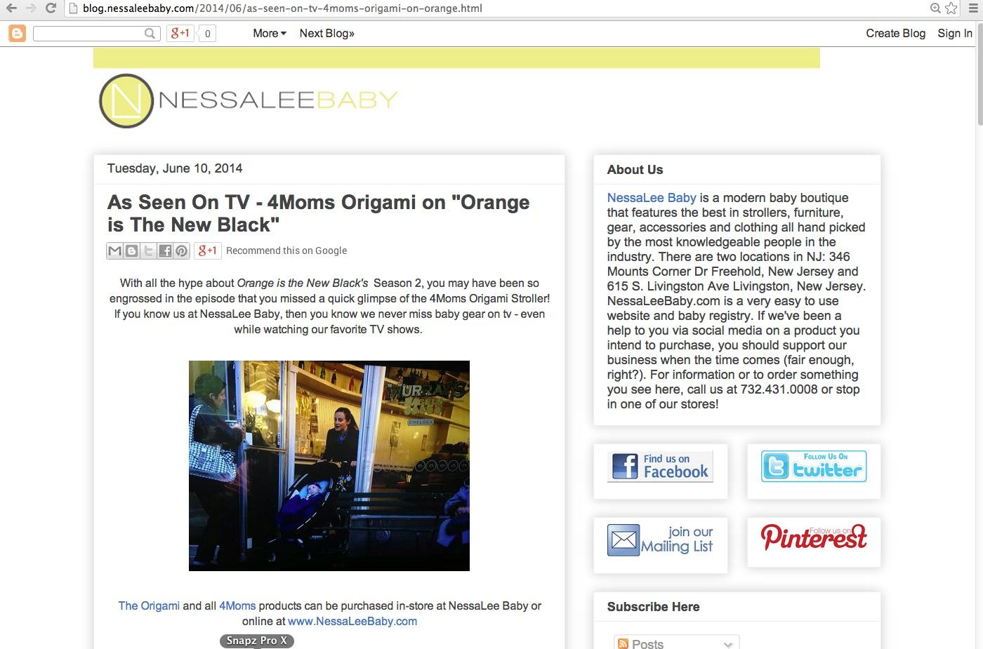 4Moms • Orange Is The New Black