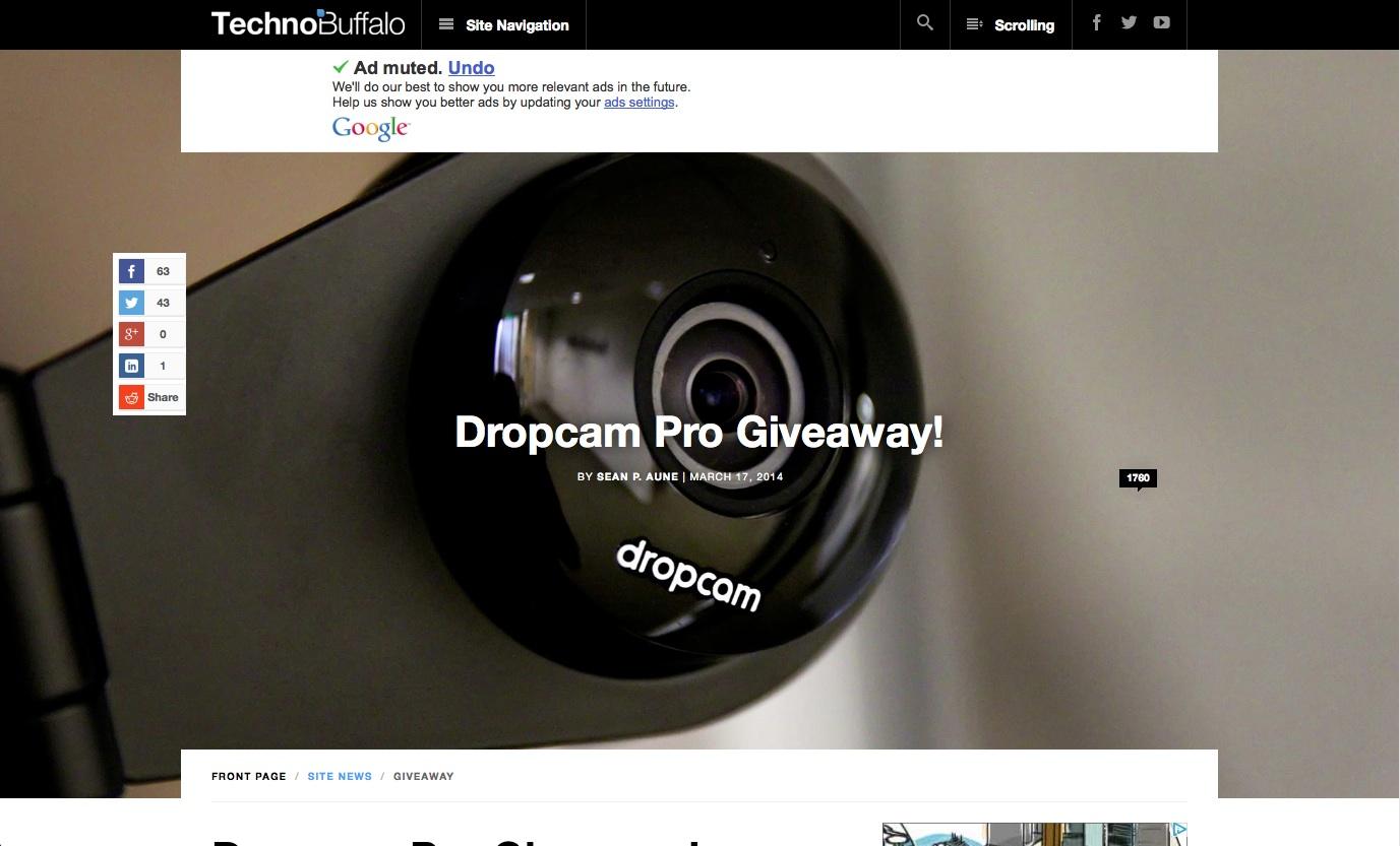 Dropcam • TechnoBuffalo