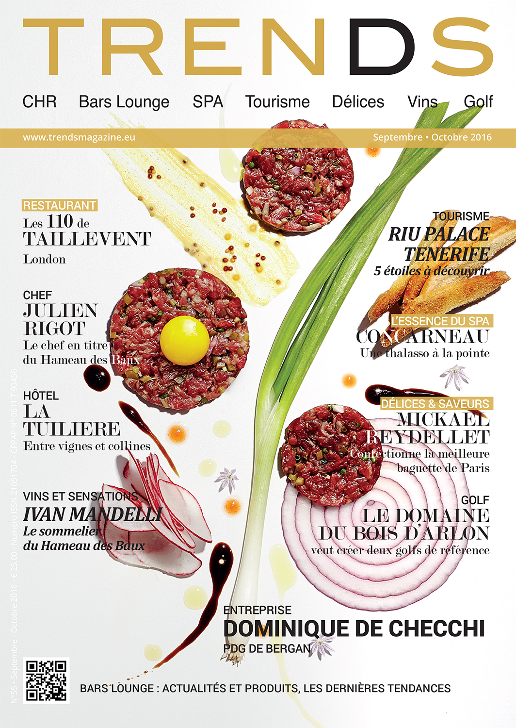 Trends Magazine Cover - Sept-Oct 2016