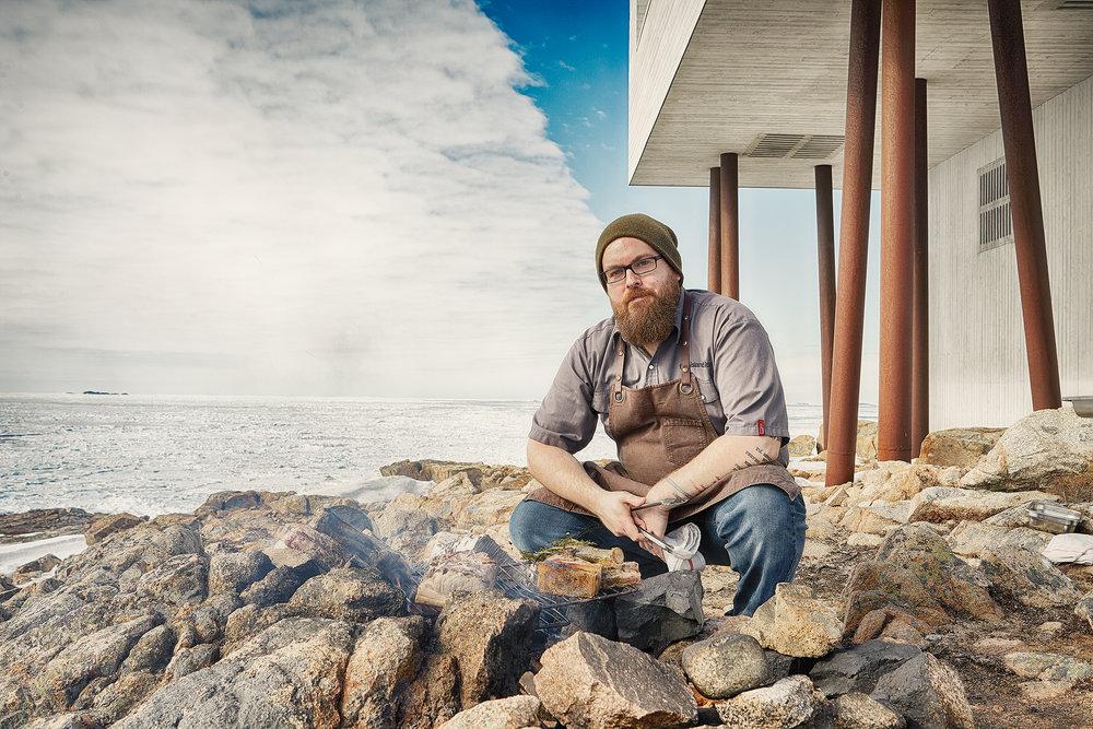 Chef Murray McDonald in Newfoundland - 2015