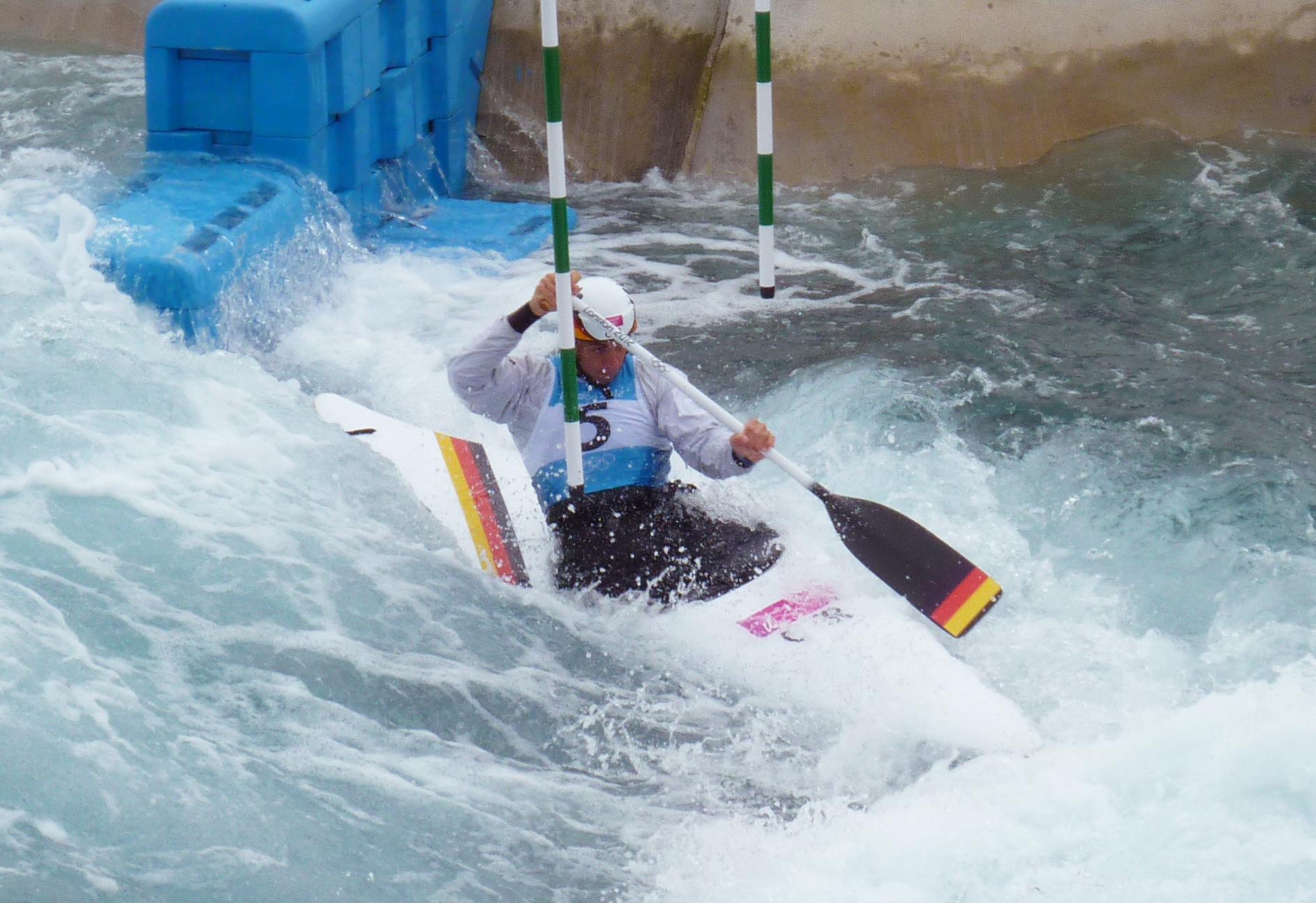 Canoe Slalom - Like bathtime but with points