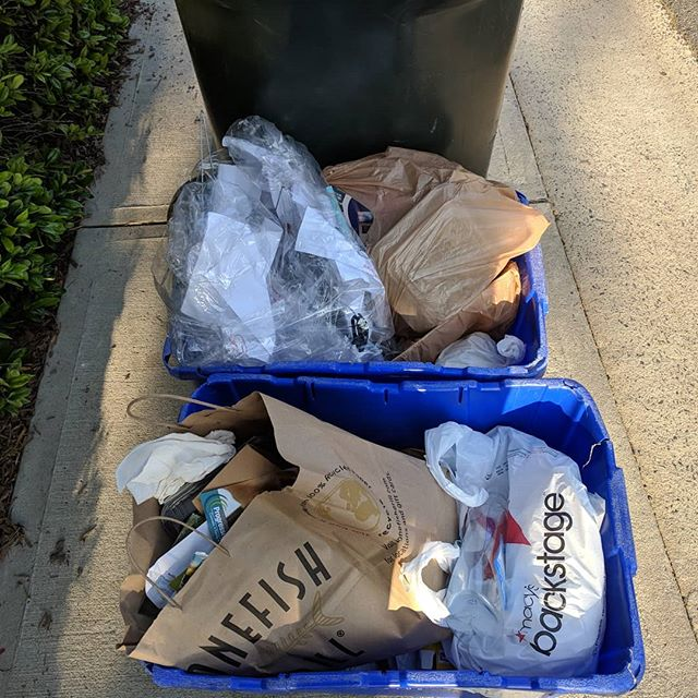 This is #recycling ? Our #motherearth please help us to be better custiodians of this #homeplanet. #charmeck #charlottenc