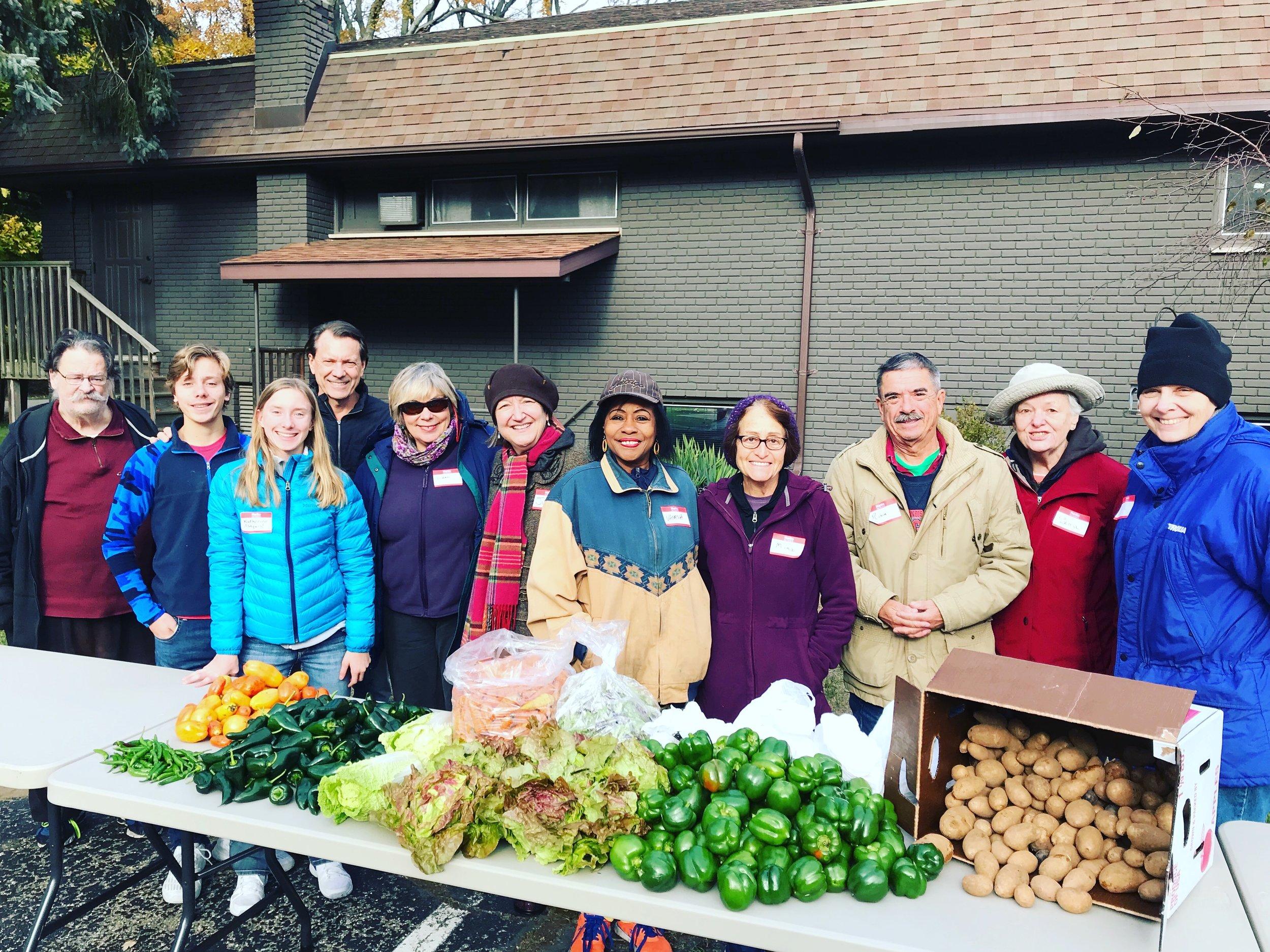 November Mobile Food Pantry at Church of the Mediator in Harbert