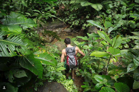 Jungle Hike in Nuqui /// Photograph by Carina Hessmer