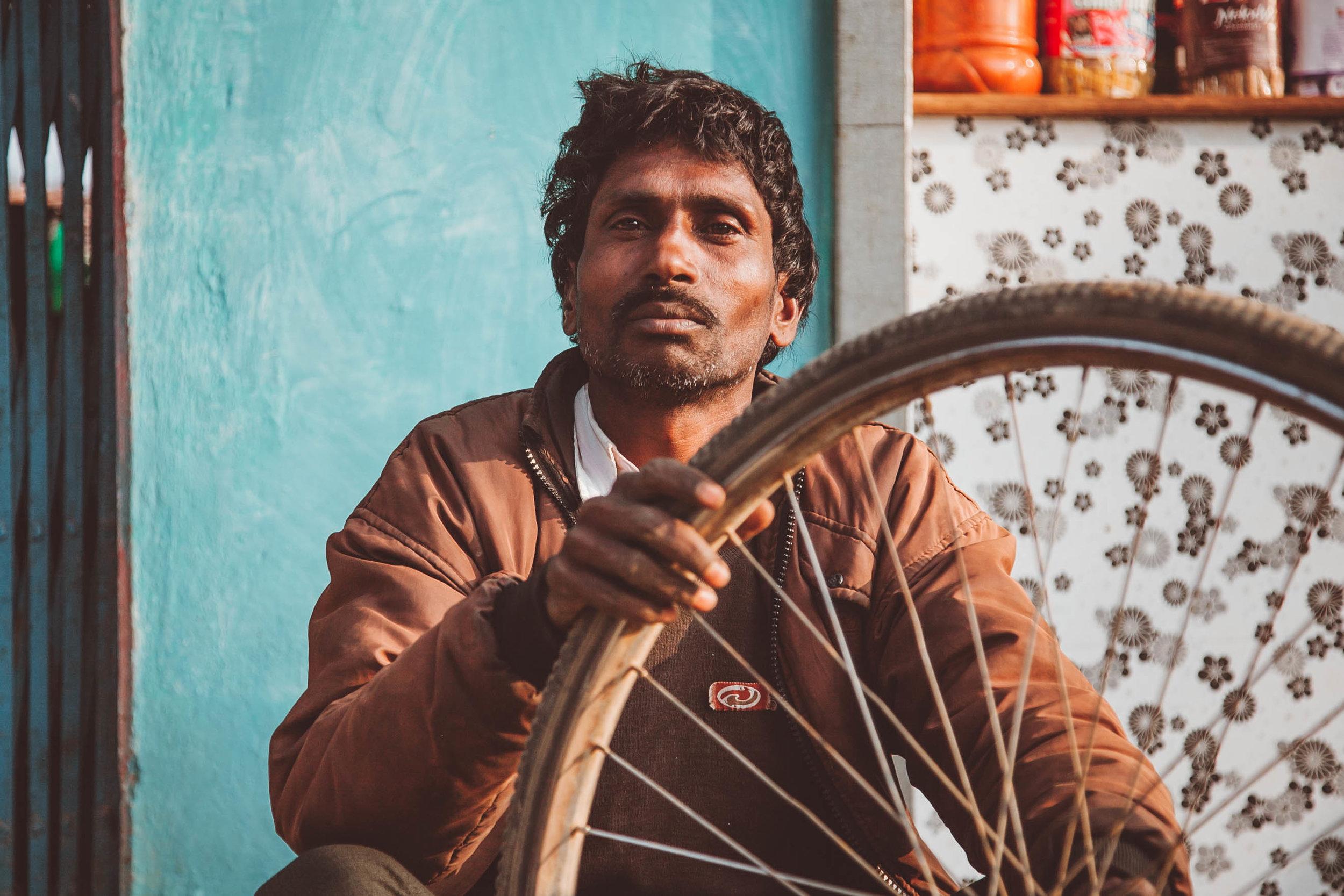 Baiga Tribesman in India