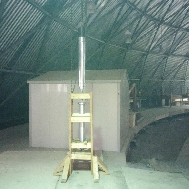 UTAT Rocketry's cold-flow test setup