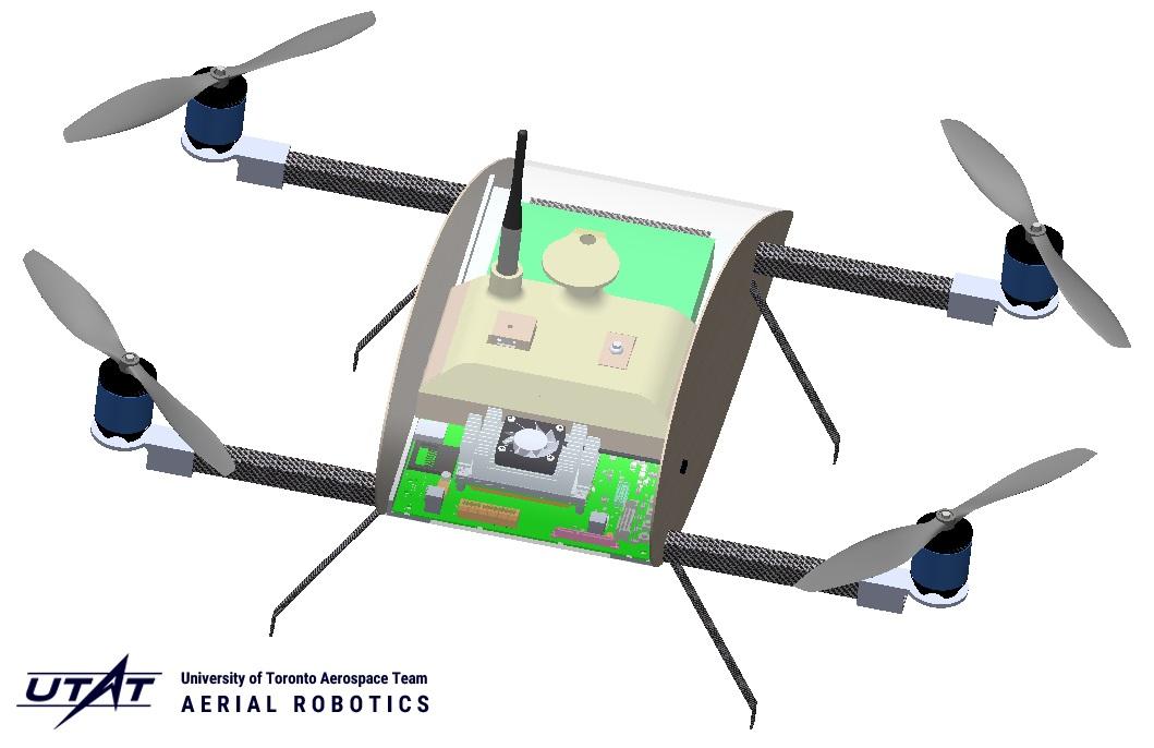 Preliminary design of the UTAT Skyhawk quadcopter