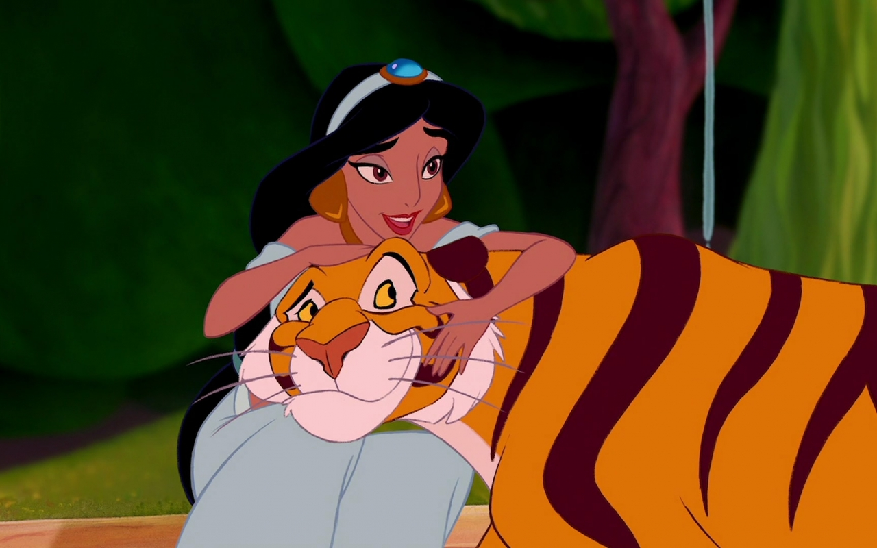 Linda is the voice of Princess Jasmine.