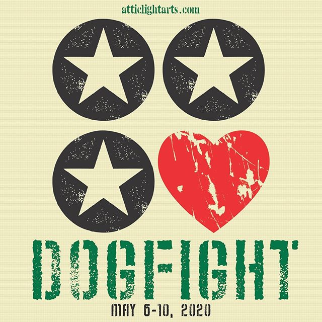 Tickets go on sale this month for Dogfight! Stay tuned here for info!  May 6-10, 2020 at @thecultch  Atticlightarts.com/dogfight