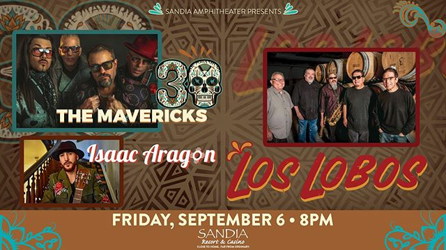 Vamos, Burque! ✊🏽 Thrilled to share the bill with the legendary @the_mavericks y @loslobos SEPTEMBER 6 @sandiacasino Ampitheater featuring my good friend and acclaimed trumpeter @rctrumpet6 LINK IN BIO FOR TICKETS! #themavericks #loslobos #isaacaragon #ryanmontano #thehealing #sandiaamphitheater 📸: @bg1313bg big thanks to @craft4causes on this one 🙌🏽