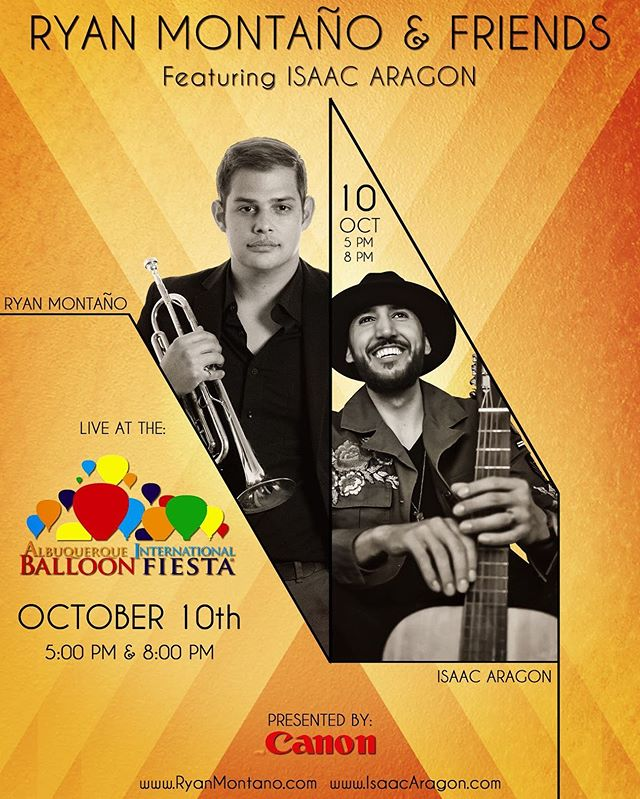 🔥MAJOR SHOW ALERT 🔥 3 weeks from today, and you can mark my word, this will be THE show of the year. The BADDEST musicians in NM together on one stage supporting our original music?! 🙌🏽 Be there! @rctrumpet6 @artha_meadors @palmer3inc @deethemusician @ctolousse #internationalballoonfiesta #albuquerqueballoonfiesta #ryanmontano #isaacaragon #thehealing #jazz #soul #neosoul #originalmusic #independentartist #livemusicnm #livemusicalbuquerque 📸: @bg1313bg