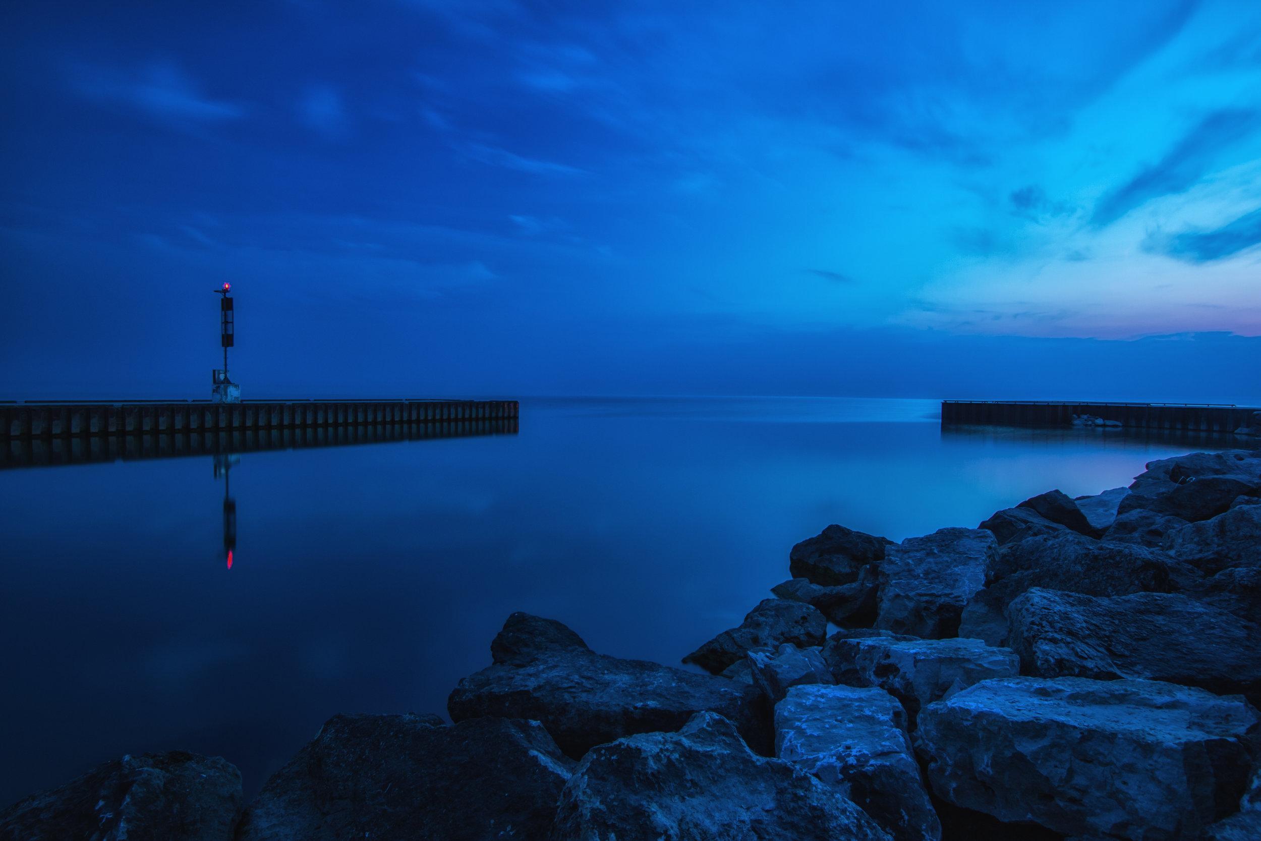 Blue Hour Pier