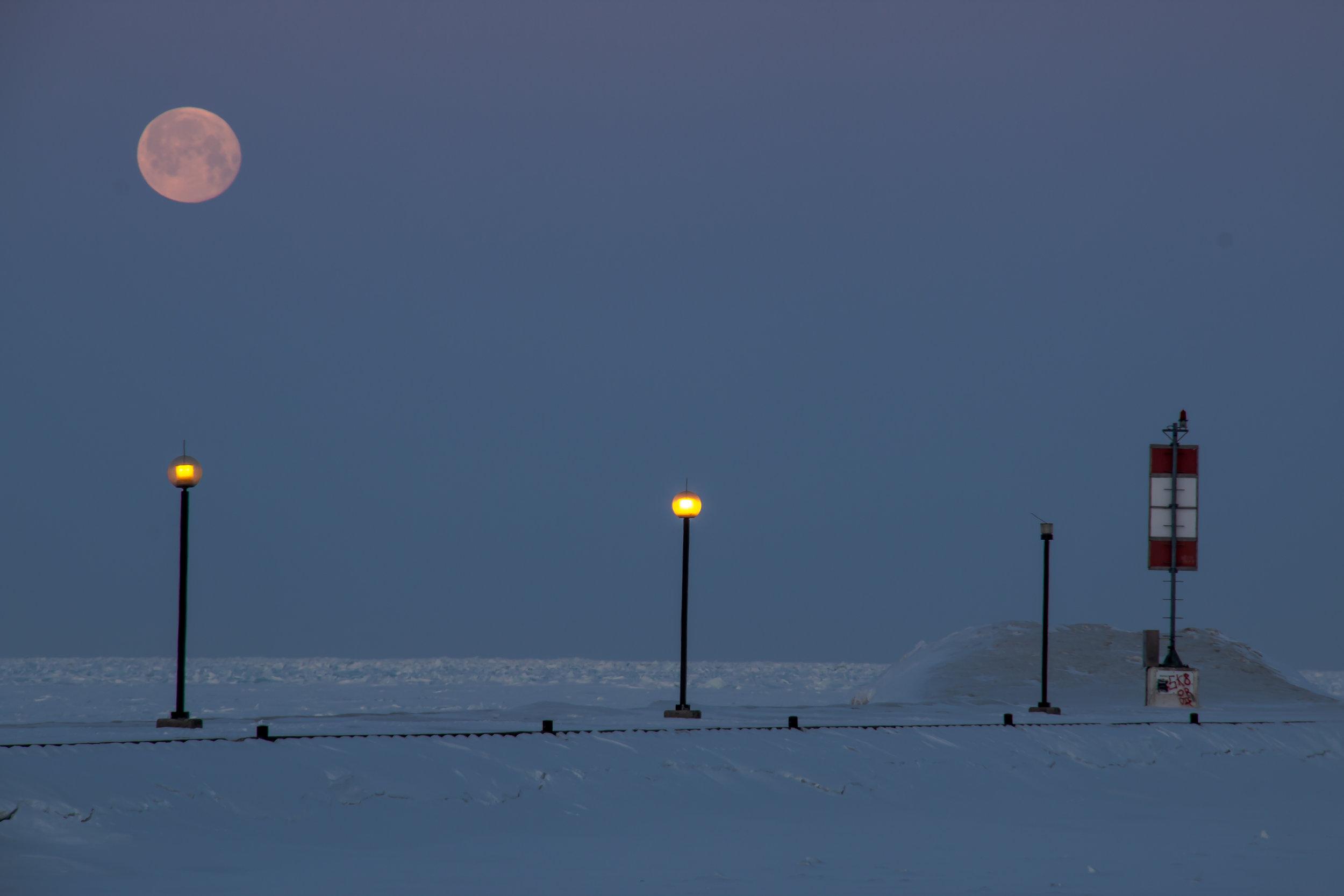 Full Moon Morning