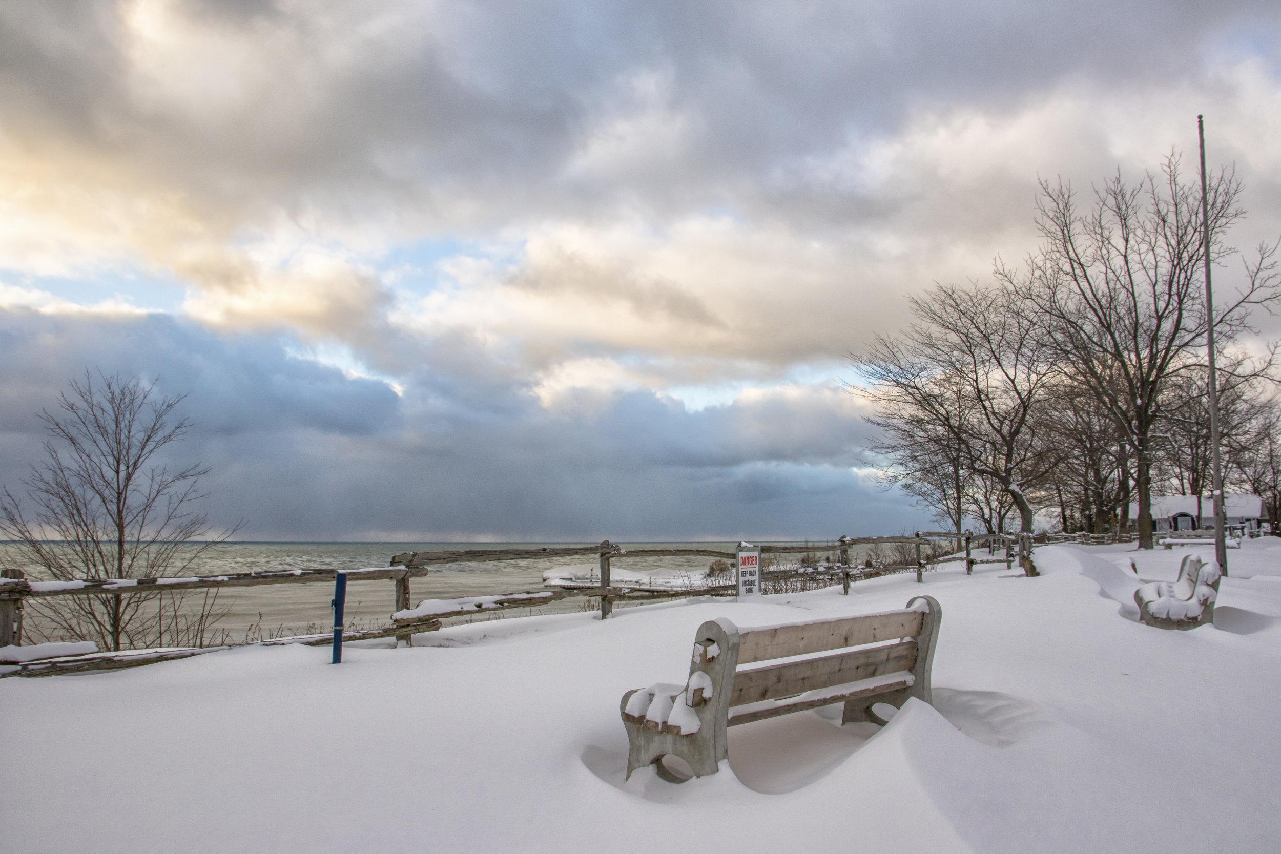 Pioneer Park Fresh Snow