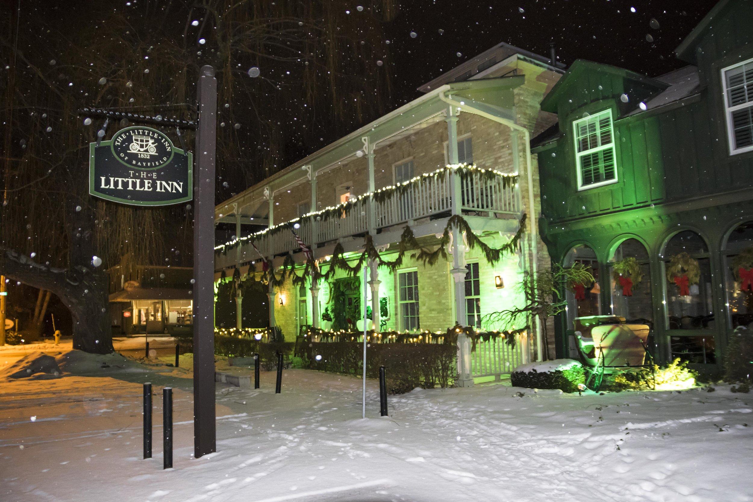Snow at the Little Inn
