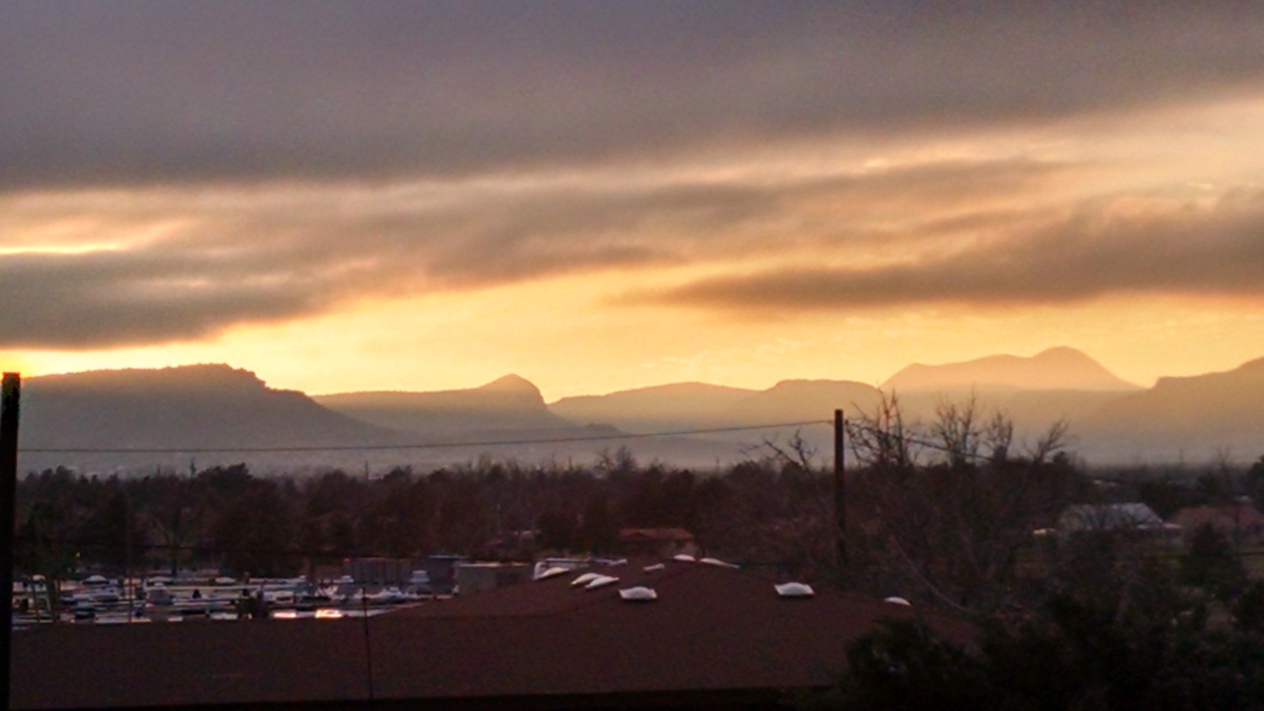 View of Alpine, Texas