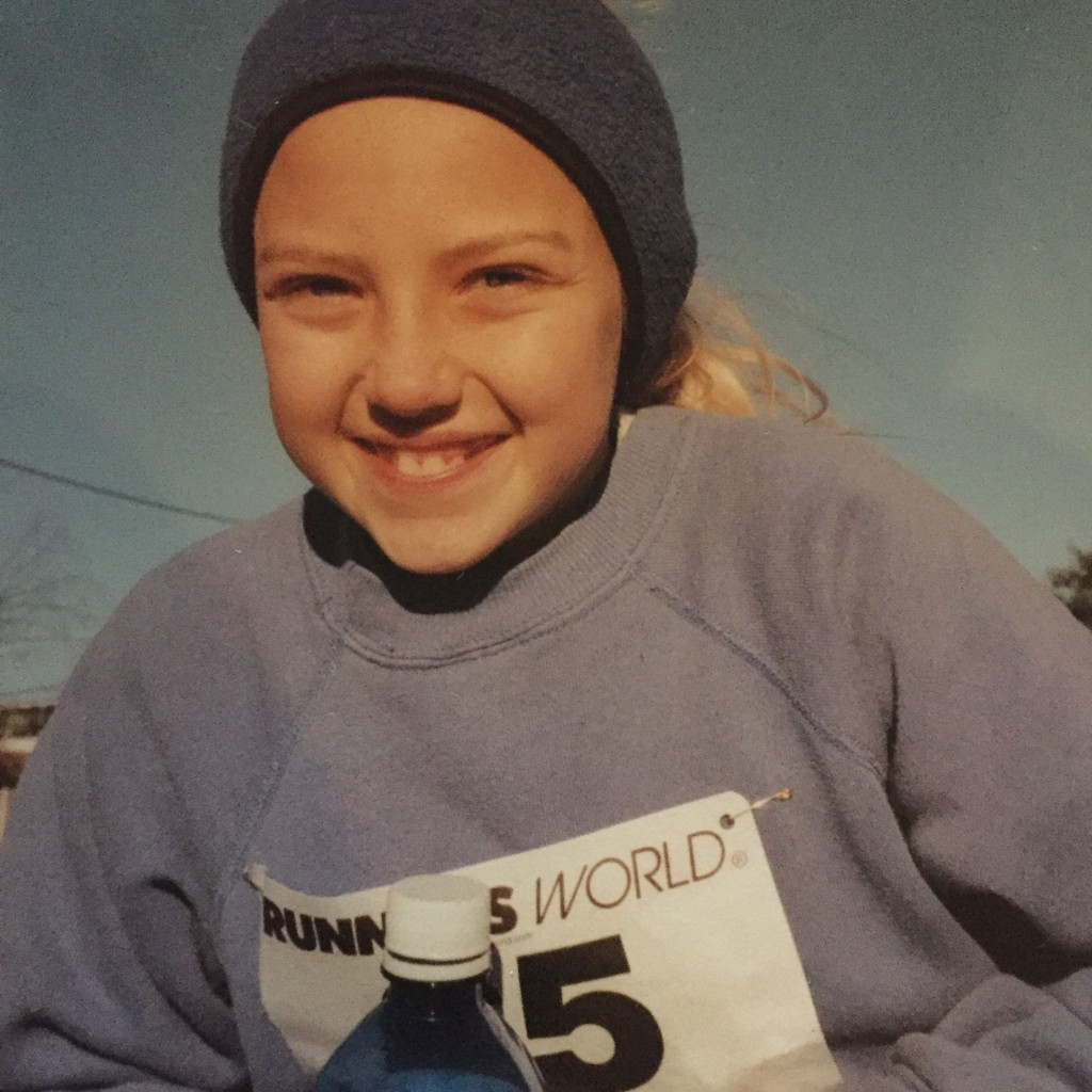 My first 5K at age 9
