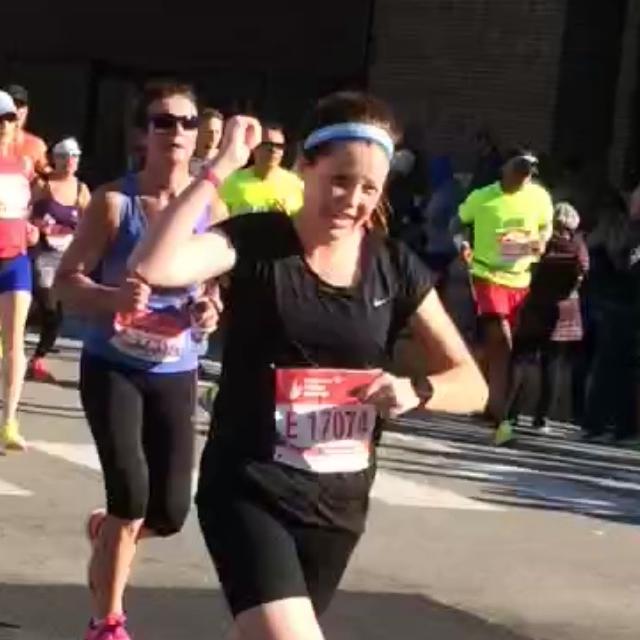 Sarah Gschwind 5k-Marathon