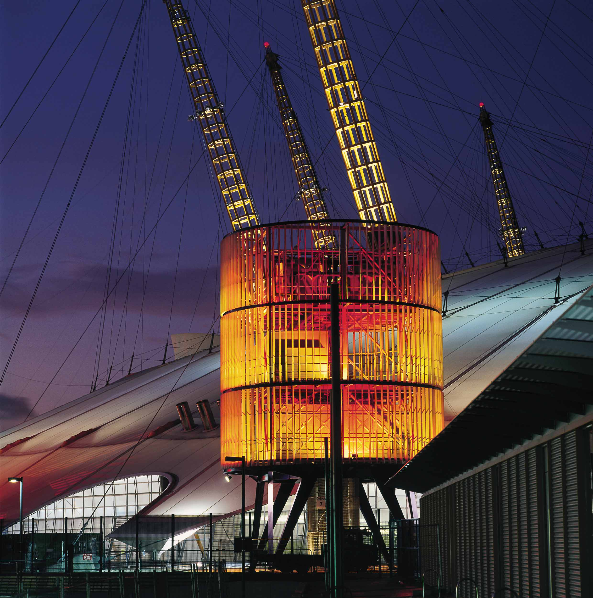 Stuart Forbes was the Project Architect for the Millennium Dome whilst at Rogers Stirk Harbour + Partners.