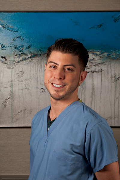 Charles C. Rivera   Lead Dental Assistant   I feel fortunate to be pursuing my career as a dental assistant in a place where I can learn the best techniques and participate in state-of-the art care. I've been a dental assistant for eleven years, and have learned to anticipate the doctors' every need during a procedure, so things run smoothly. Patients relax when they see that there are no hesitations and all instruments and materials are properly prepared. They see that we work as a team and they know they are getting excellent care. I think building trust and ease has two parts: performing well and creating a supportive, friendly atmosphere around the patient.