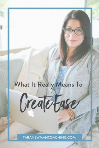 What It Really Means to Create Ease