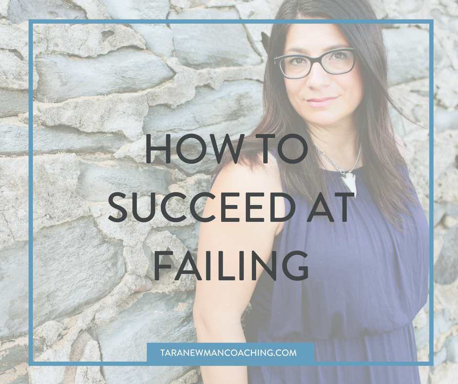 How to Succeed at Failing