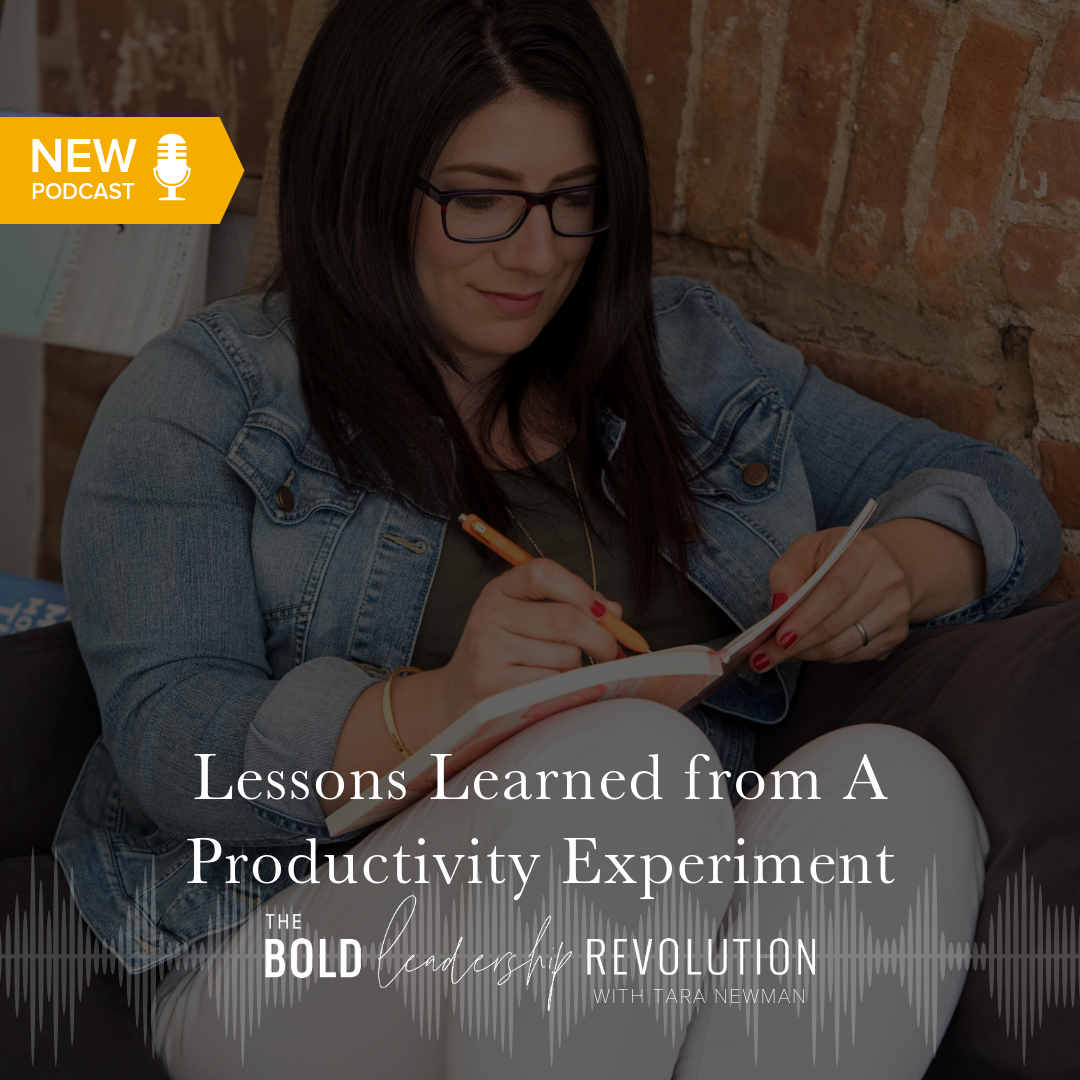 Lessons Learned from A Productivity Experiment