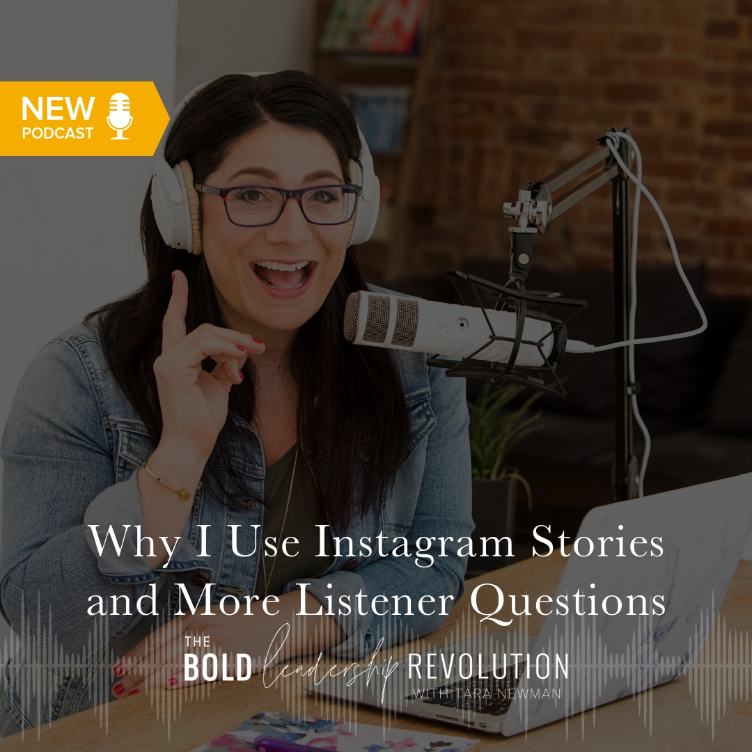 Why I Use Instagram Stories and More Listener Questions