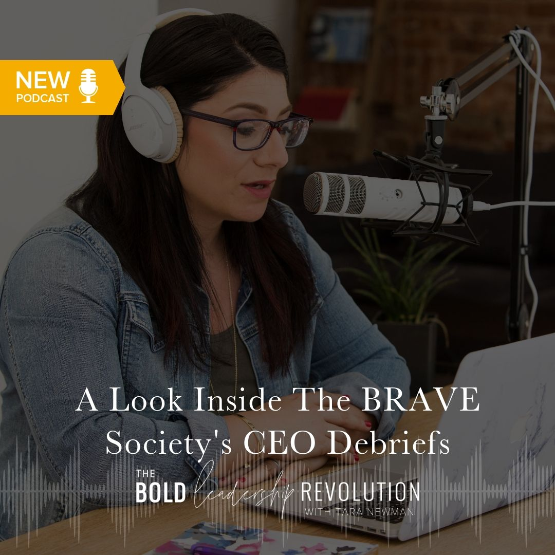 A Look Inside The BRAVE Society's CEO Debriefs