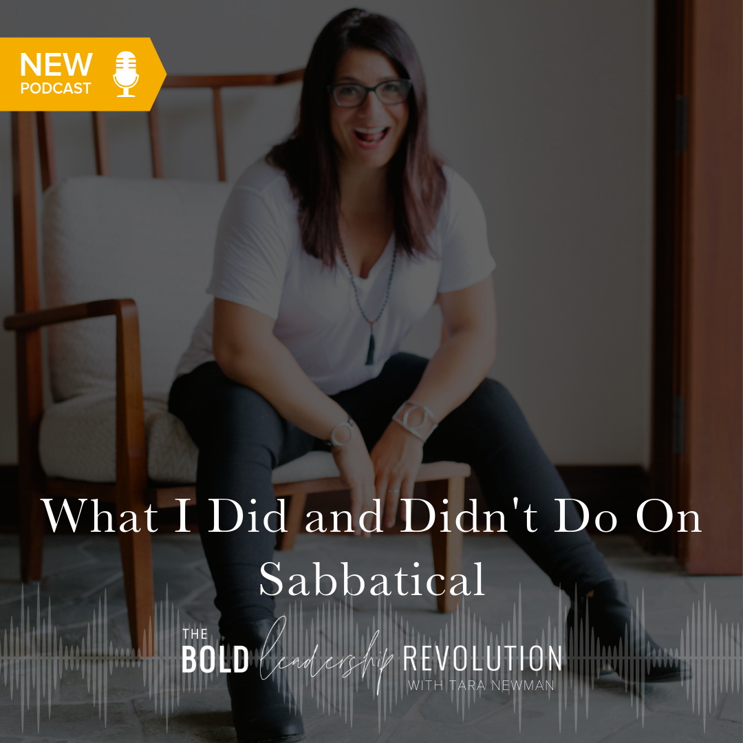 What I Did and Didn't Do On Sabbatical