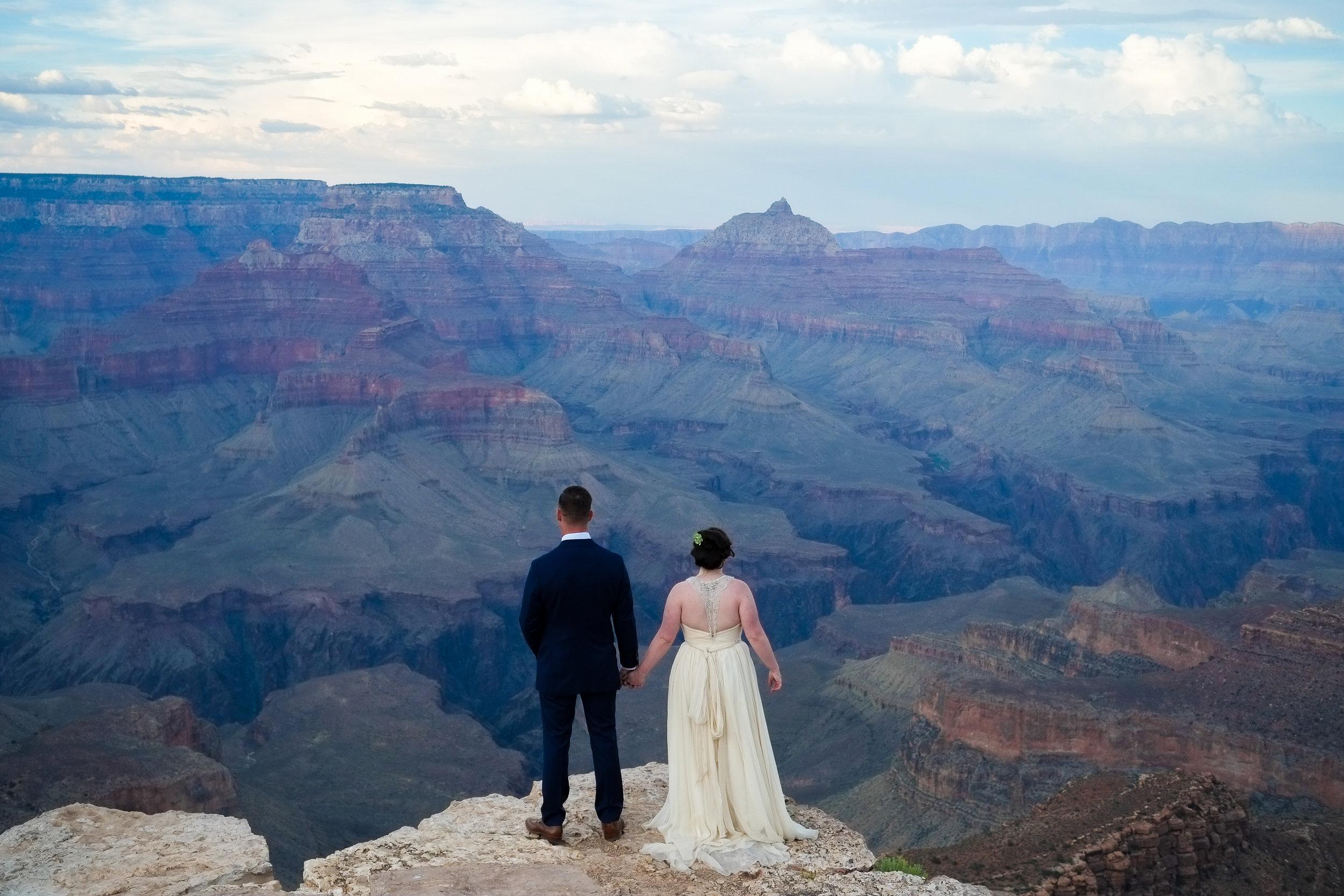 Shoshone Point wedding