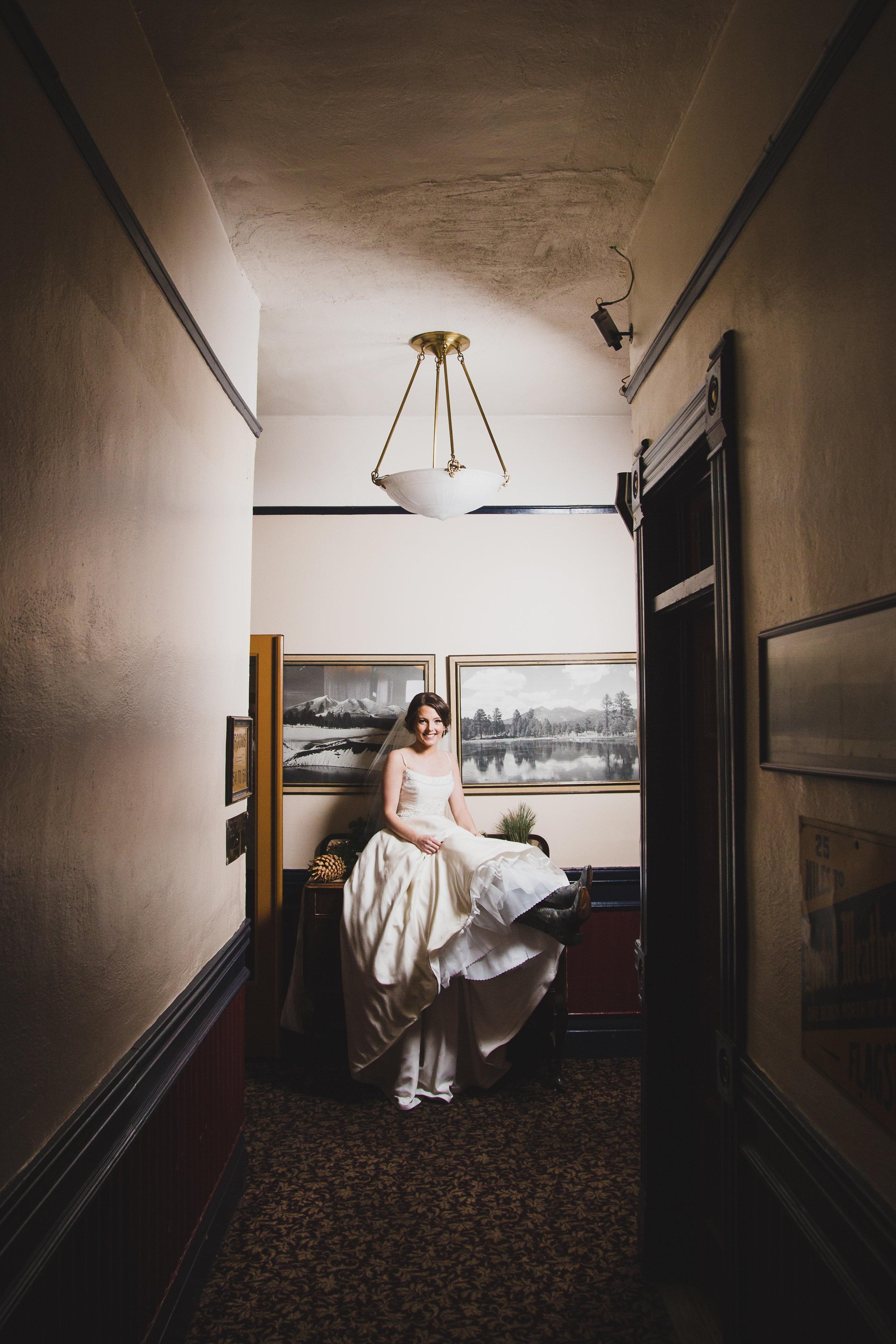 Weatherford hotel bride