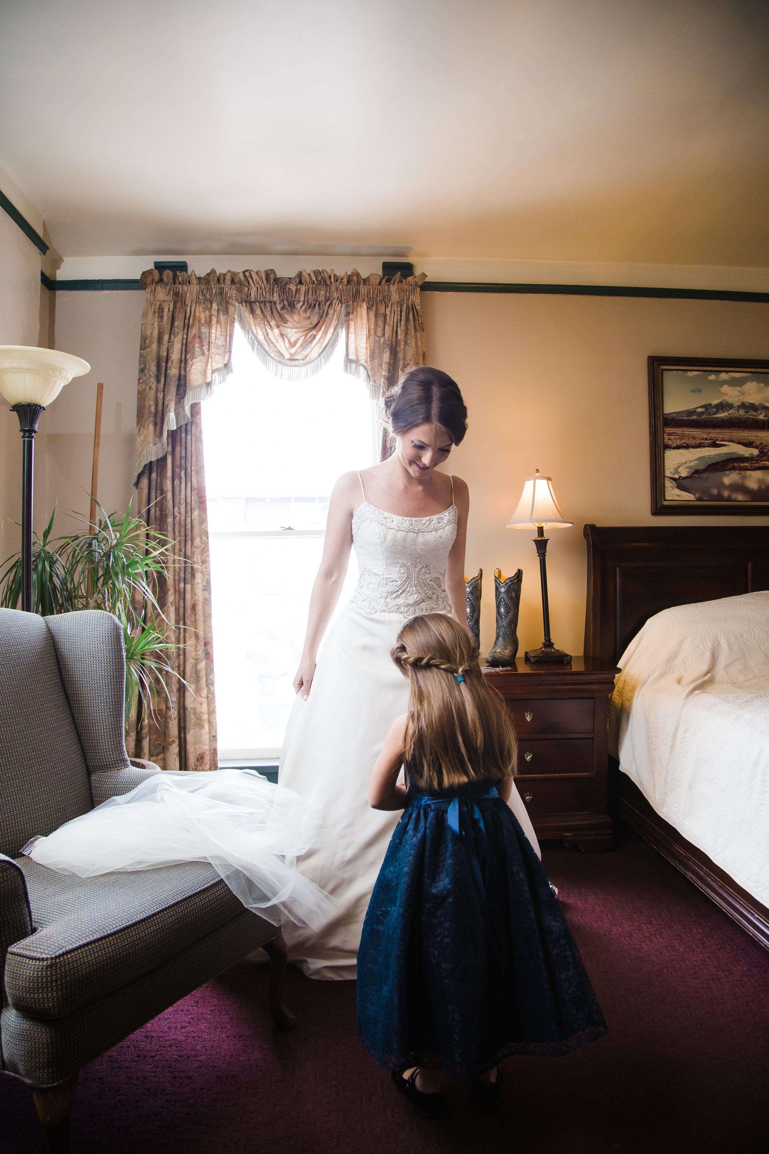 Flagstaff wedding photographer, Weatherford Hotel wedding
