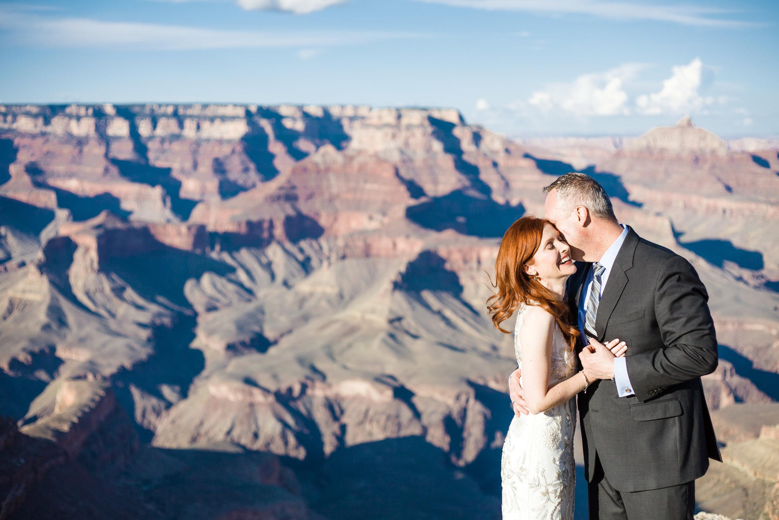 Grand Canyon wedding photographer, Shoshone Point