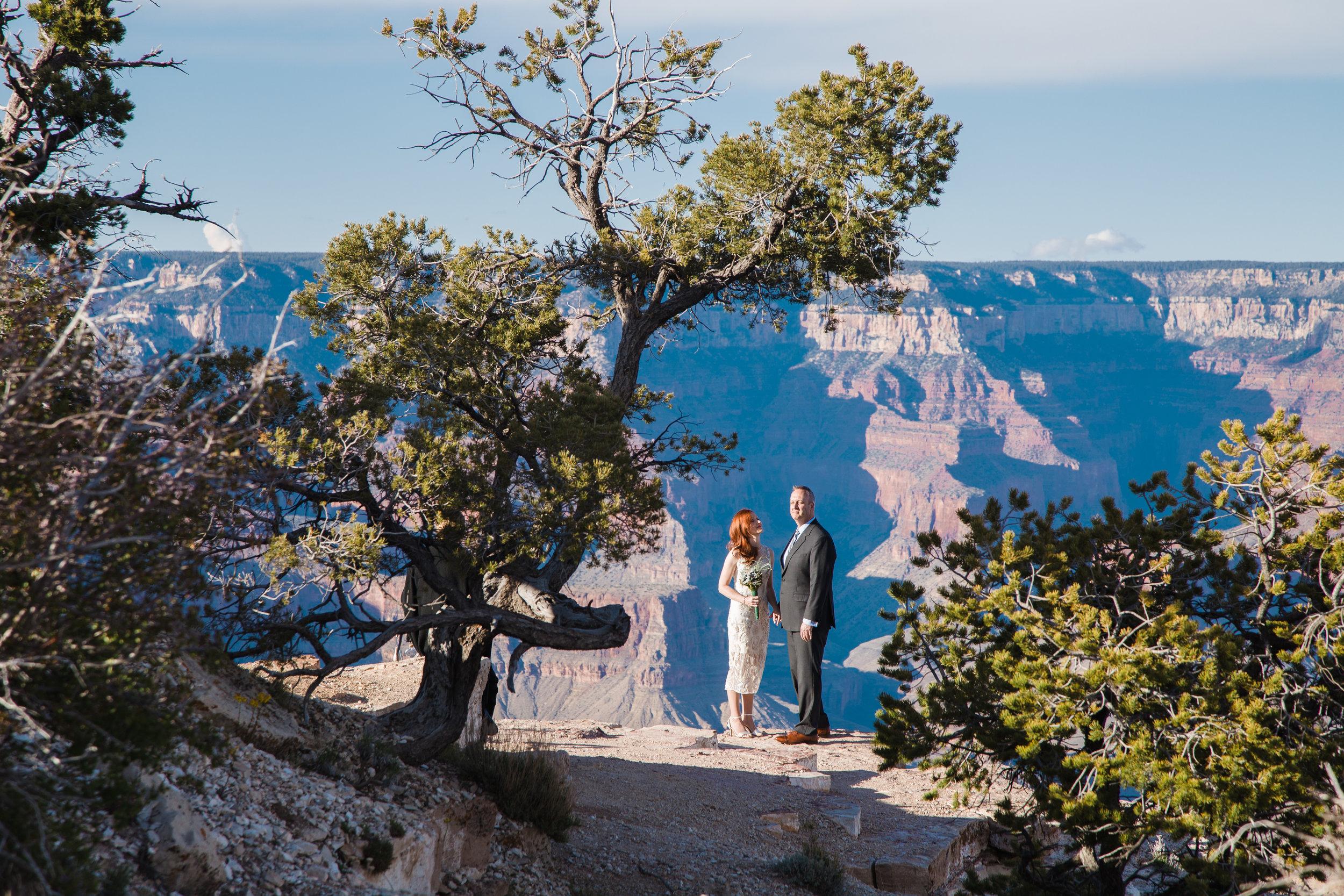 Shoshone Point wedding photography