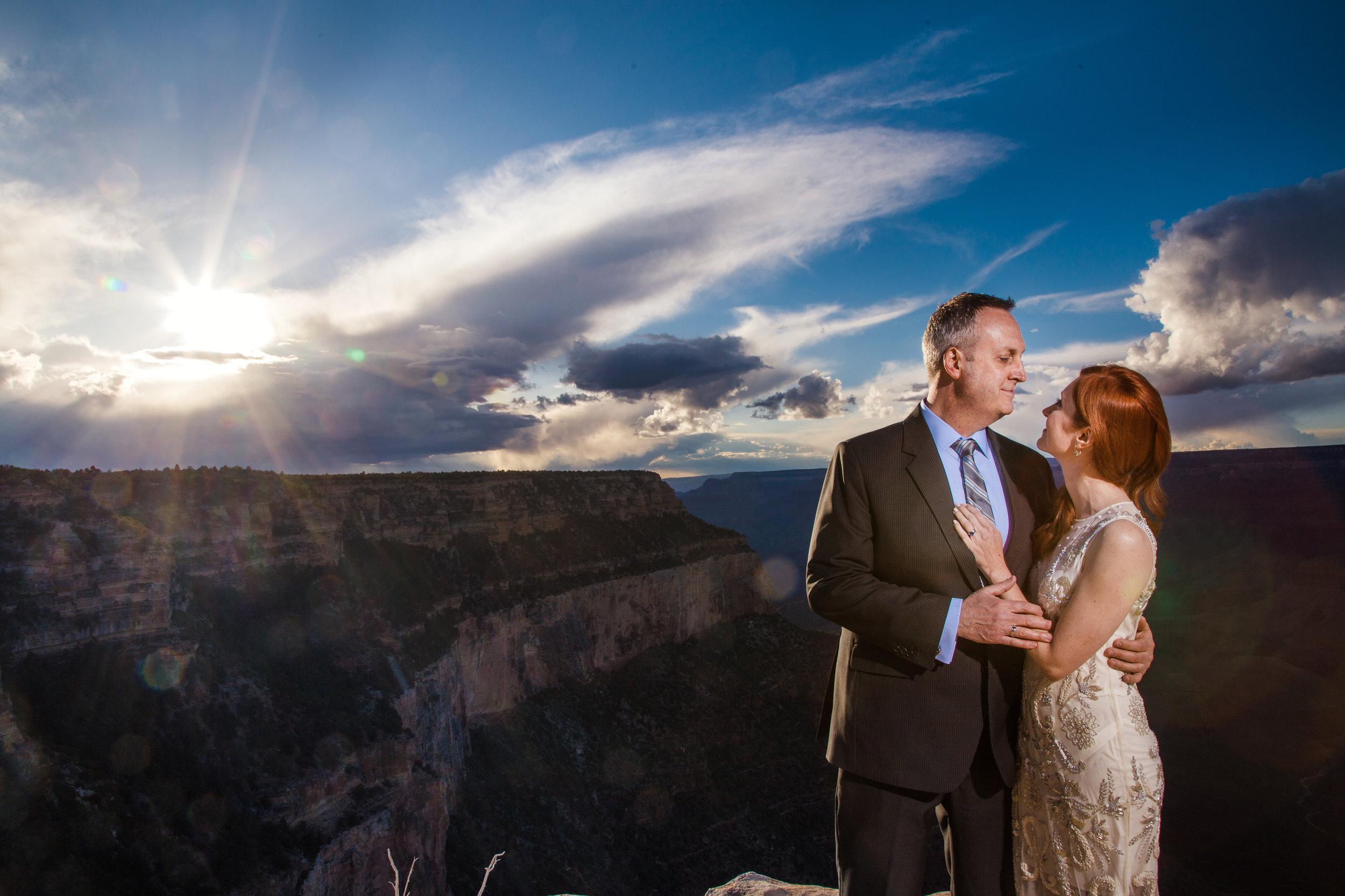 Grand Canyon wedding photographerd