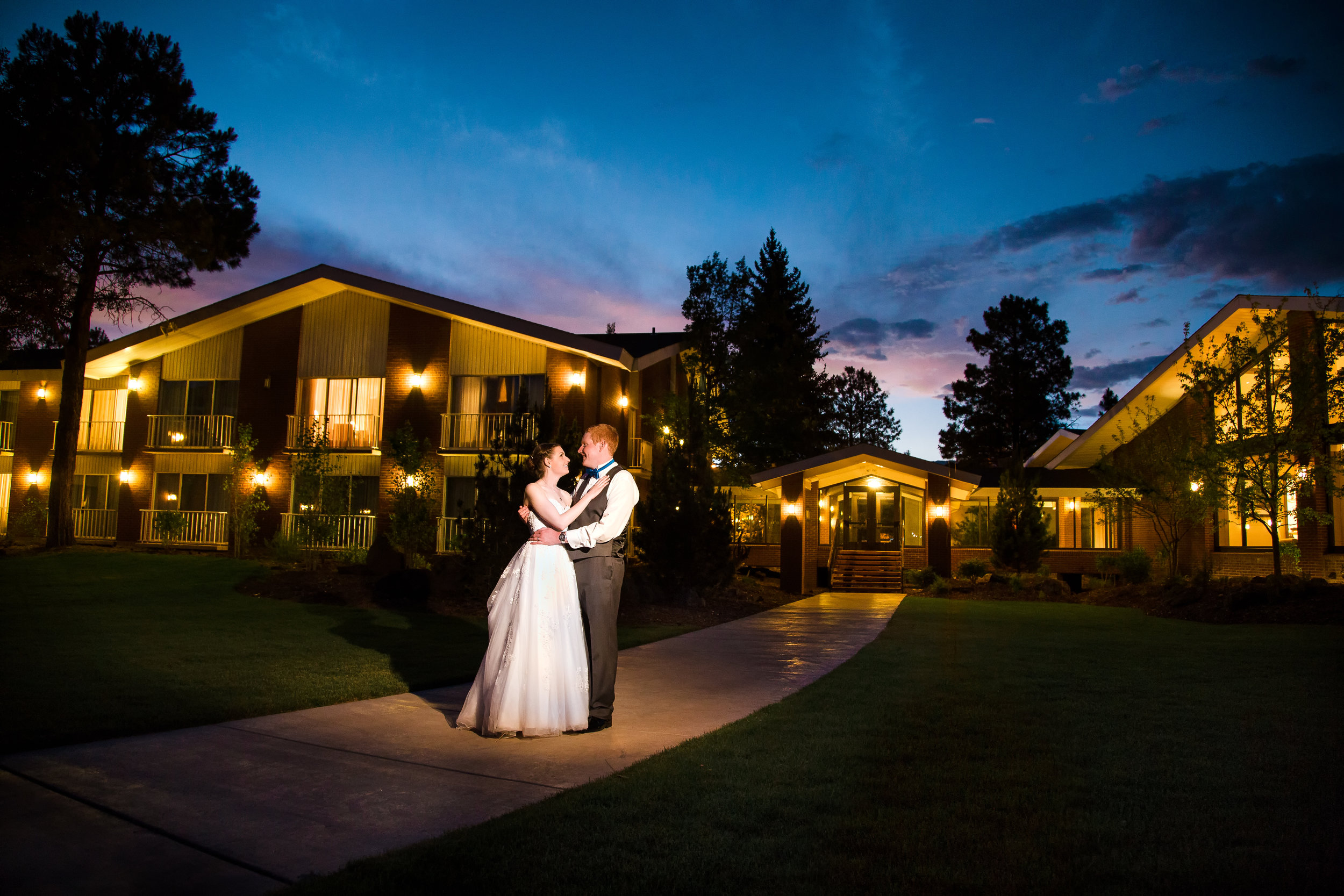 Little America wedding, Flagstaff wedding photographer.