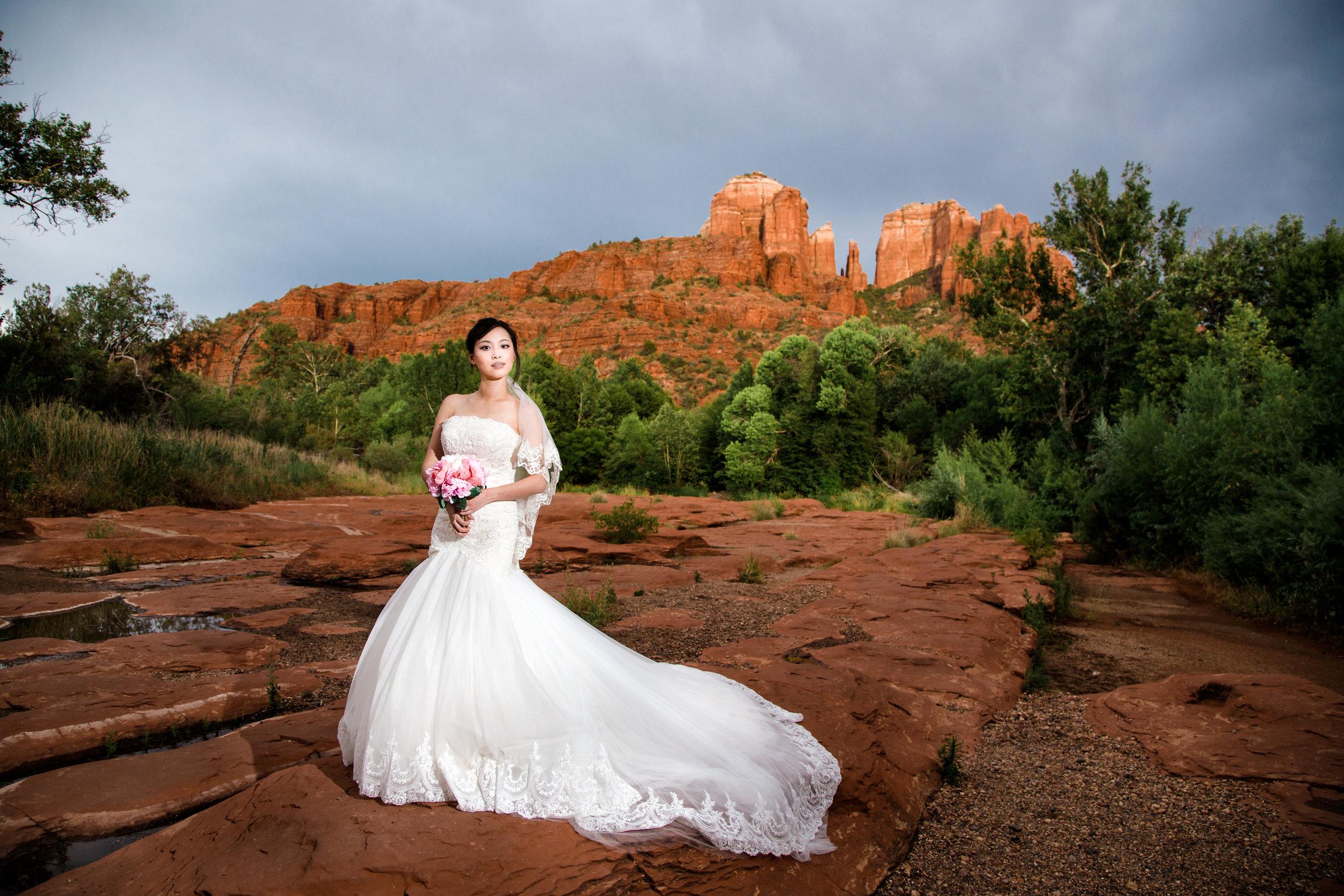 Red Rock Crossing, Sedona Wedding