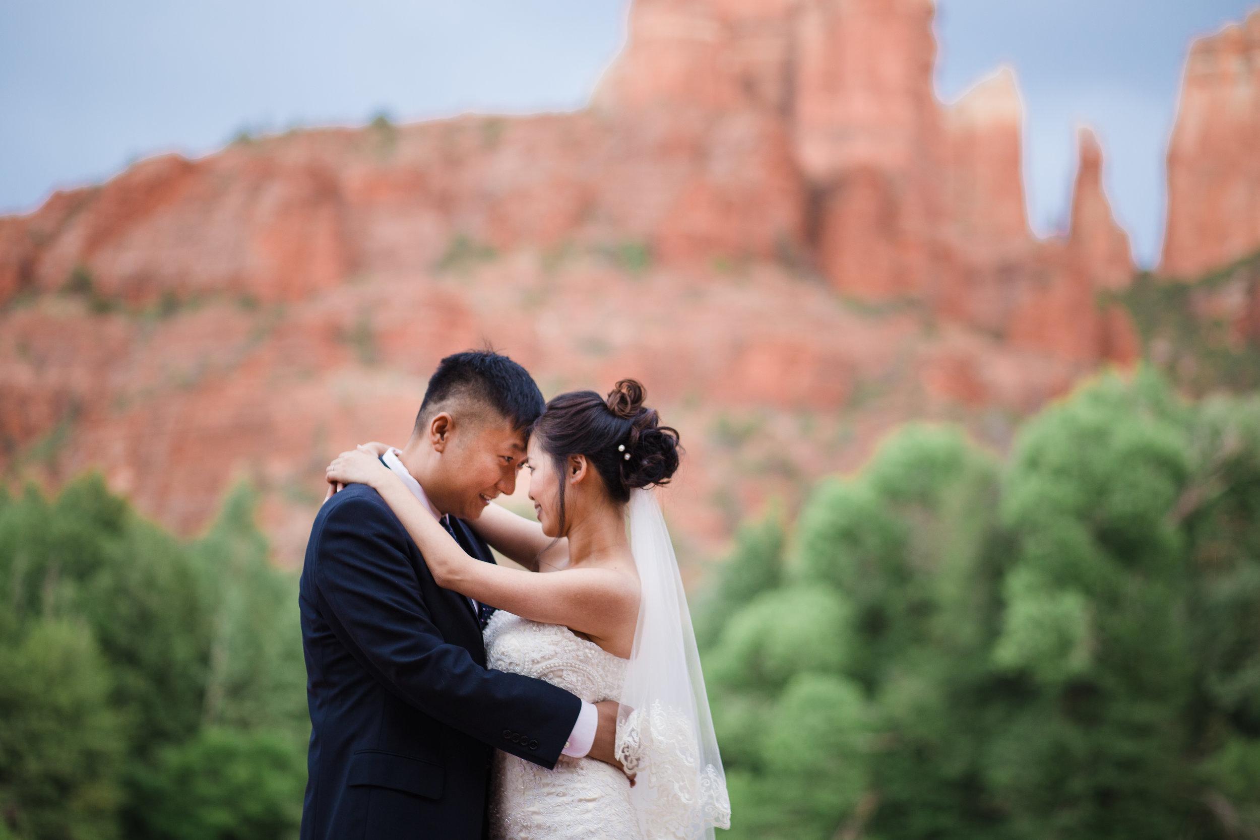 Red Rock Crossing wedding