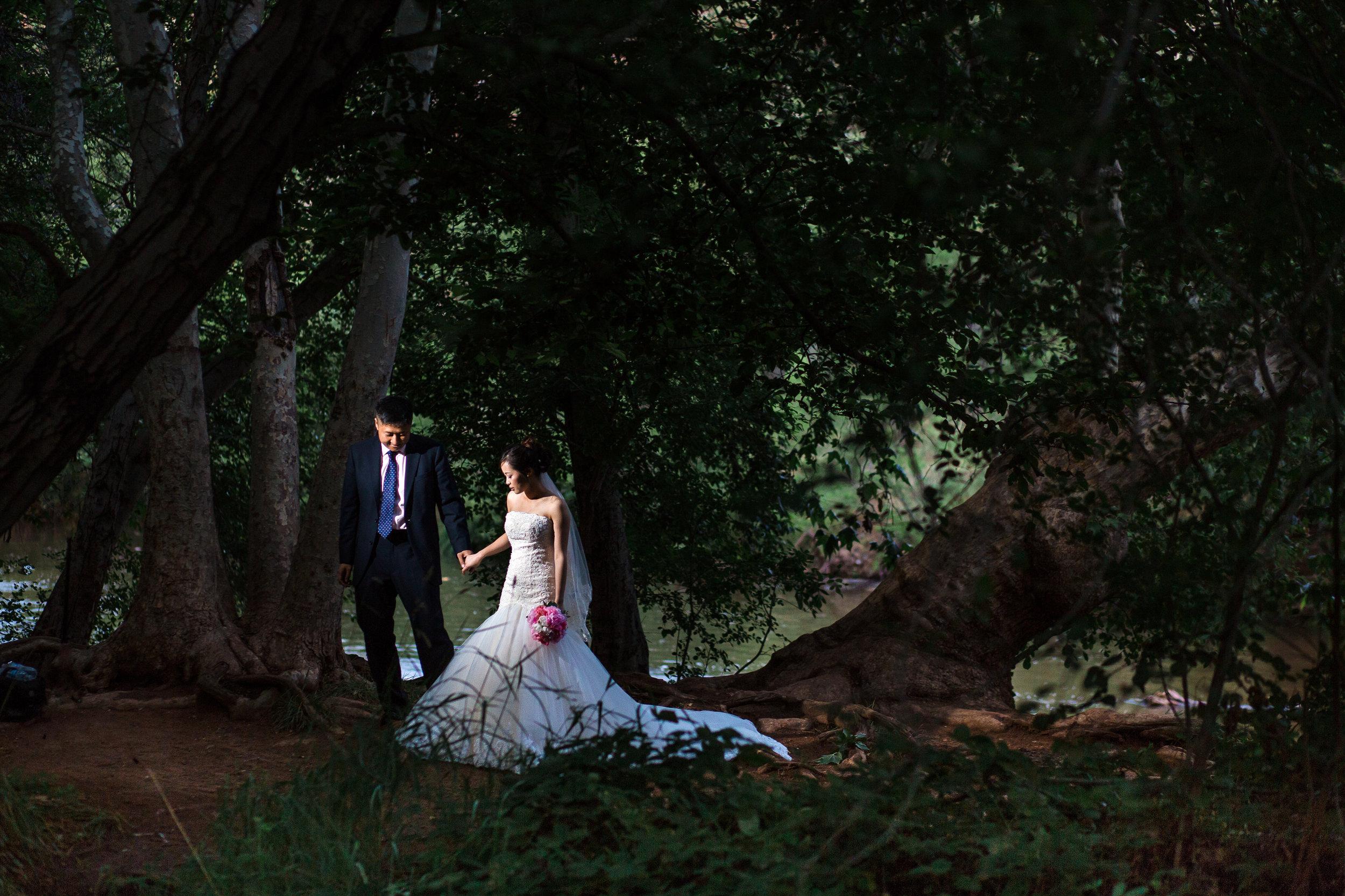 Red Rock Crossing Sedona elopement