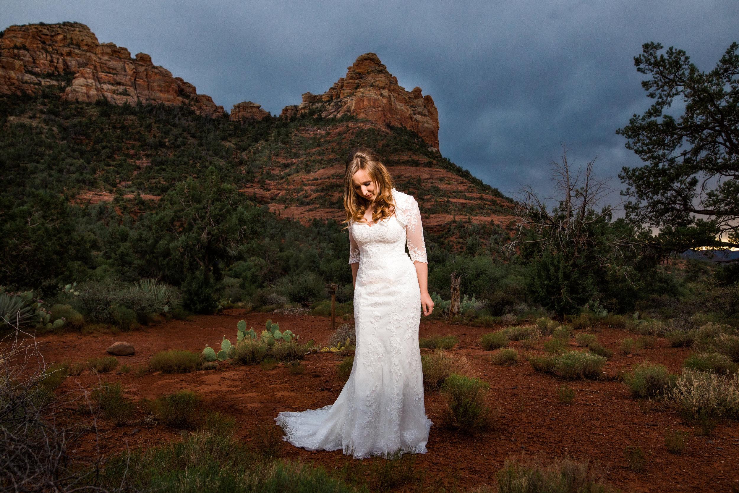 Sedona red rocks wedding