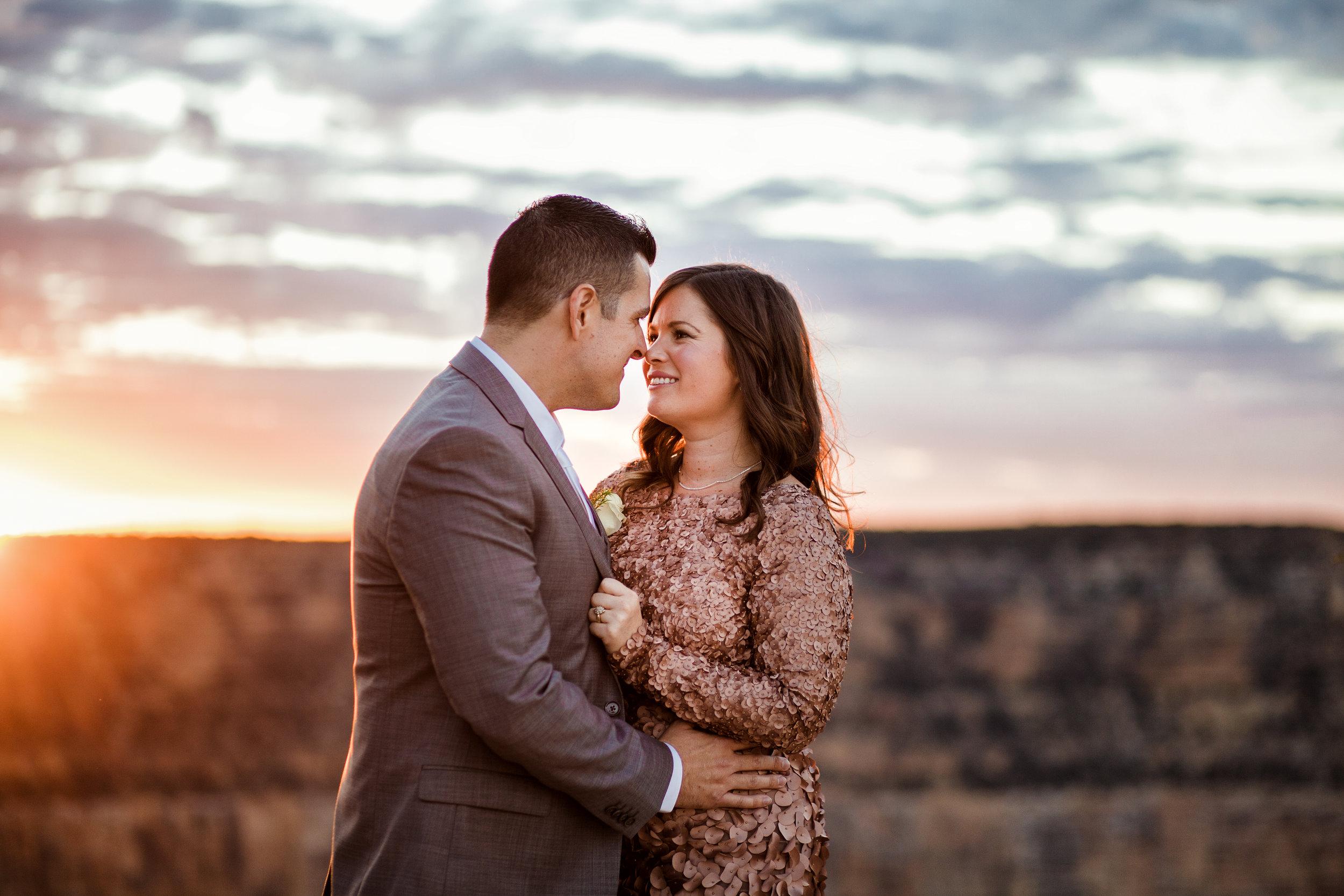 Arizona wedding photographer, Granduer Point, Grand canyon