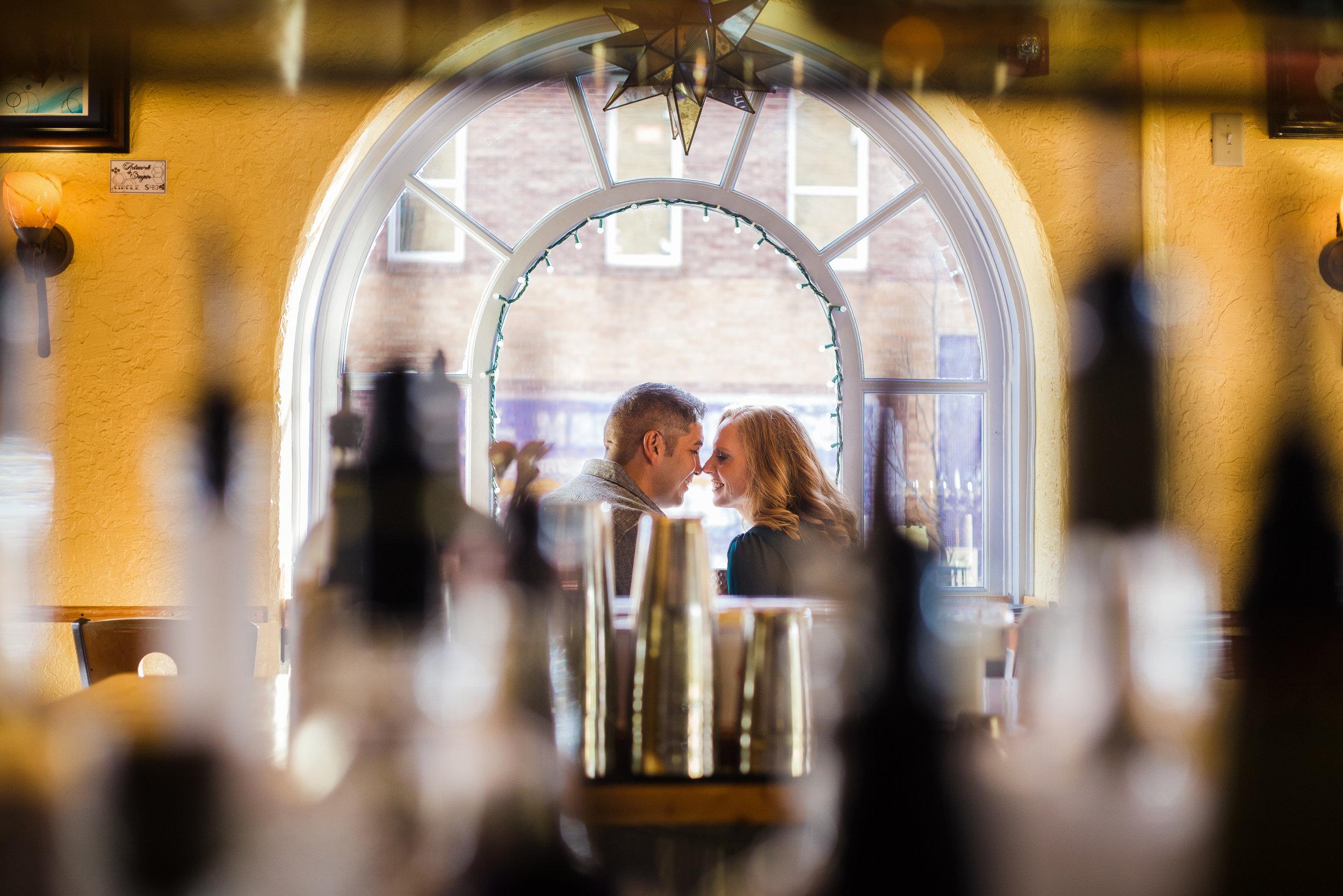 Quiet rendezvous. Flagstaff wedding photographer.